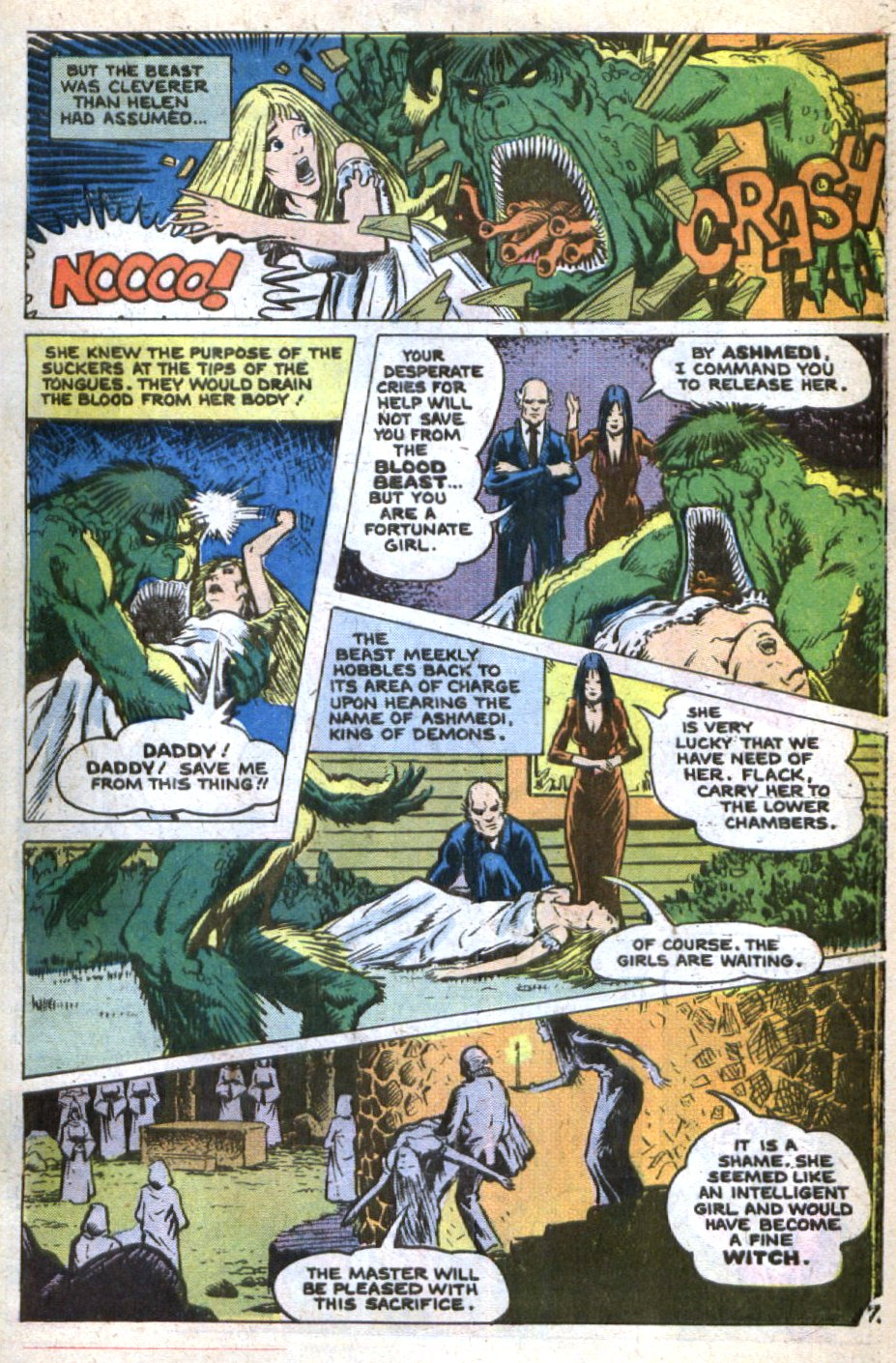 Read online Scary Tales comic -  Issue #9 - 31