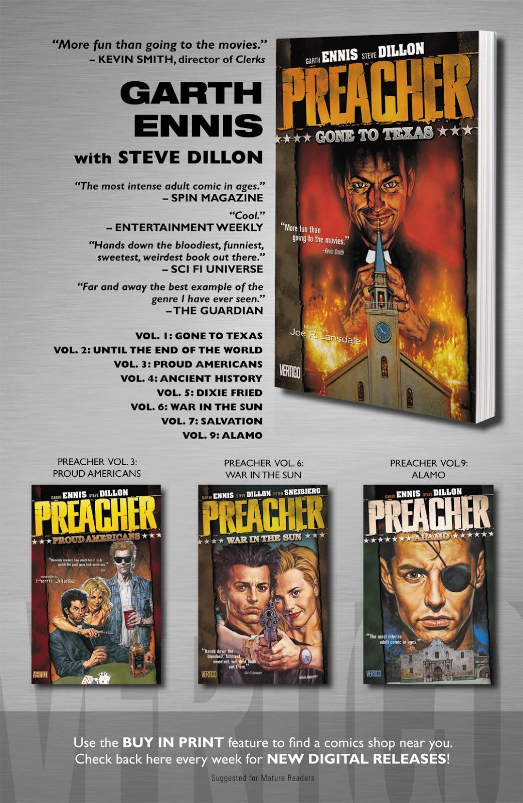 Preacher Issue #10 #19 - English 26