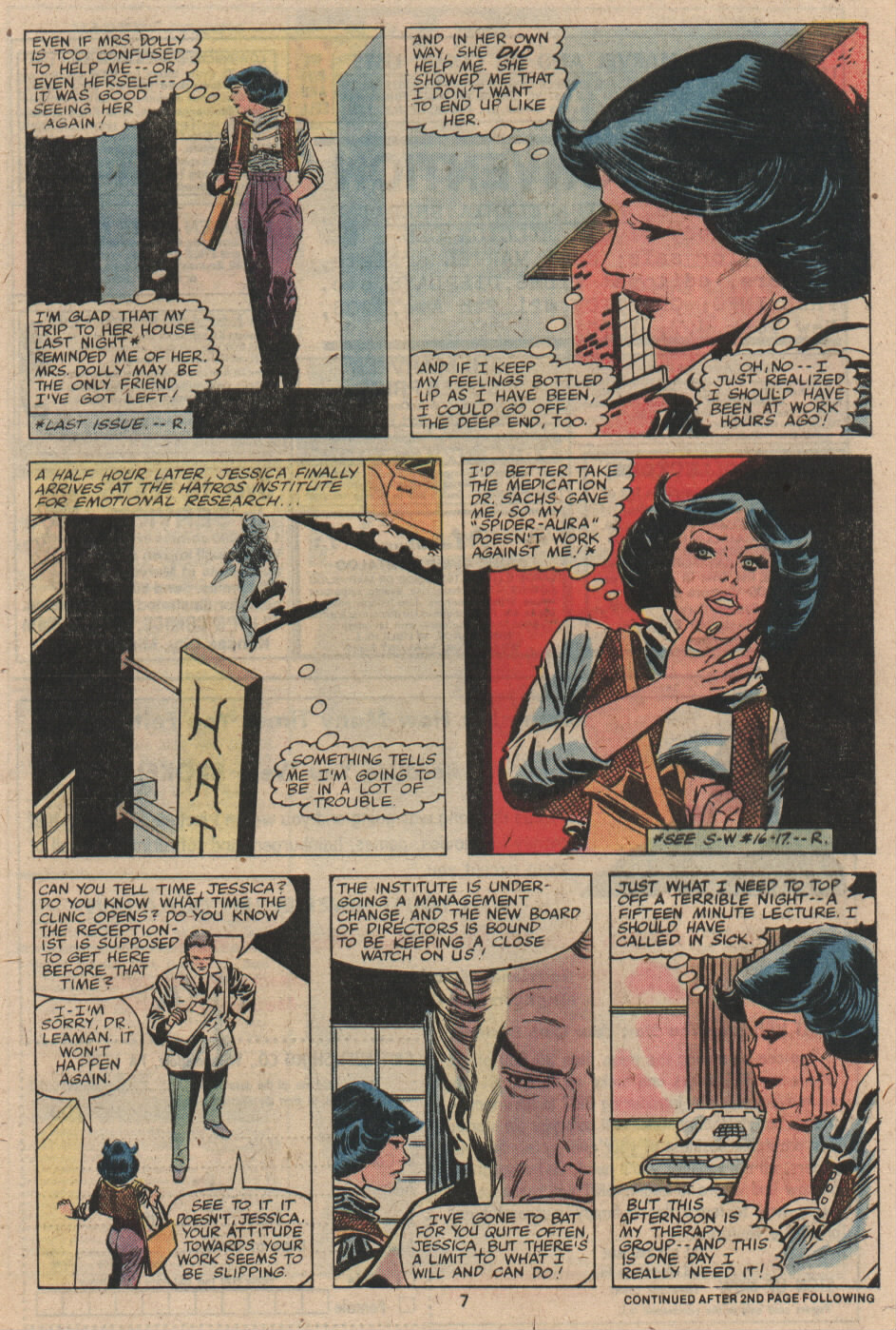Spider-Woman (1978) #19 #32 - English 6