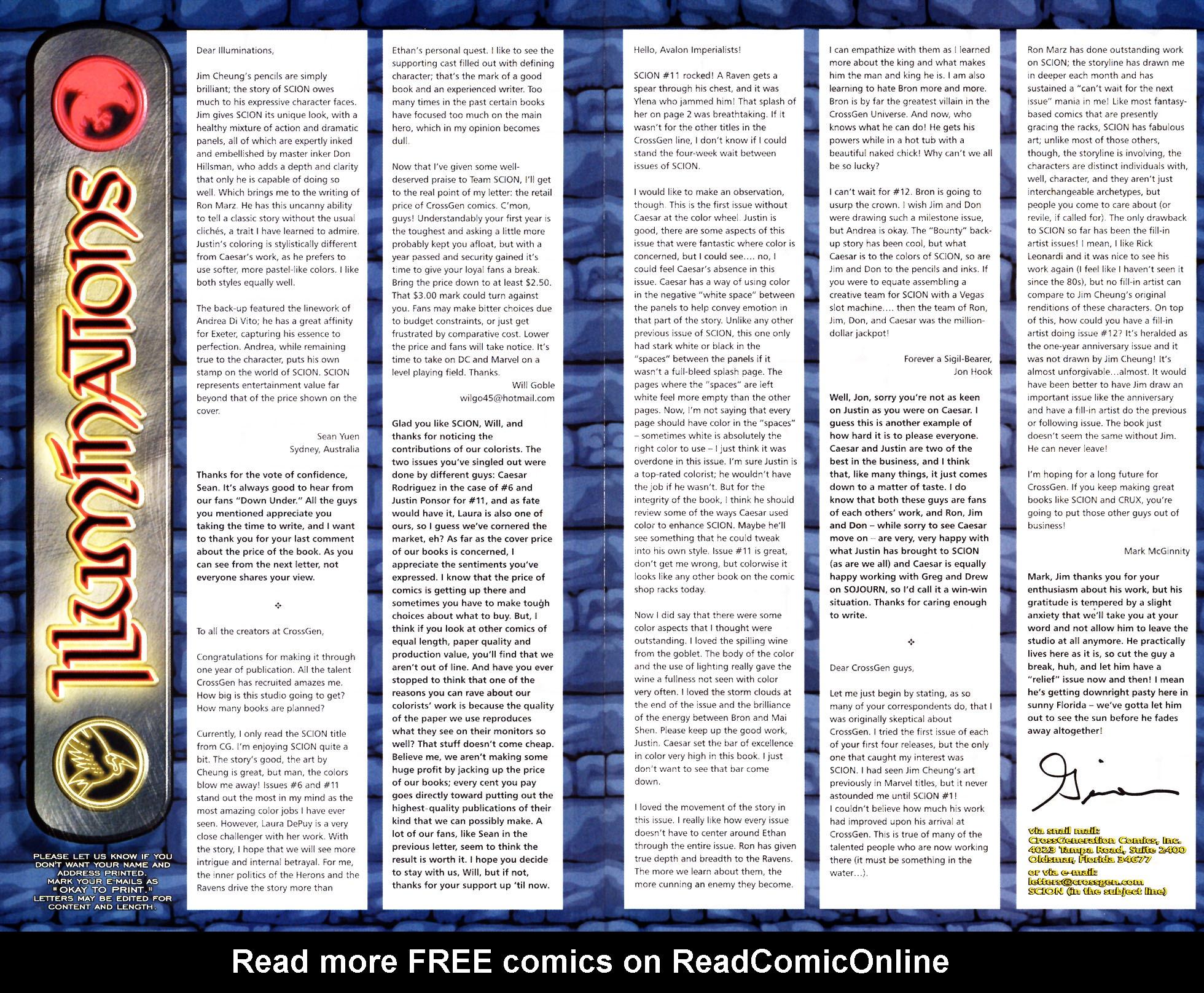 Read online Scion comic -  Issue #13 - 26