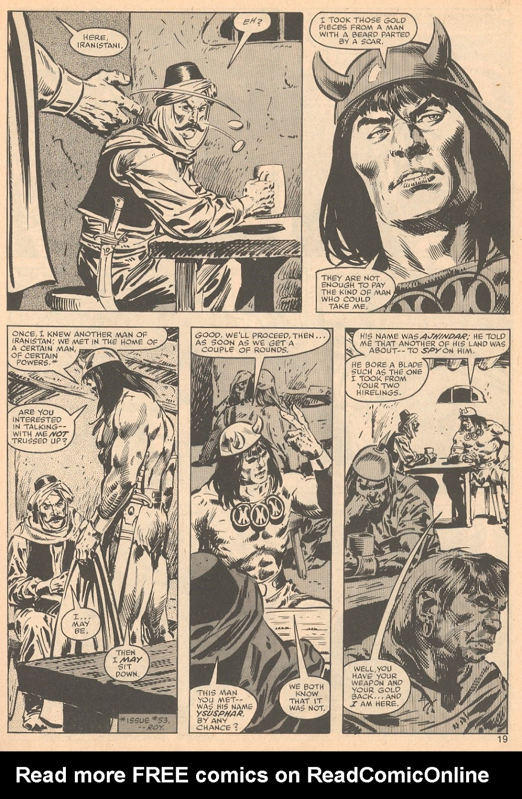The Savage Sword Of Conan Issue #56 #57 - English 19
