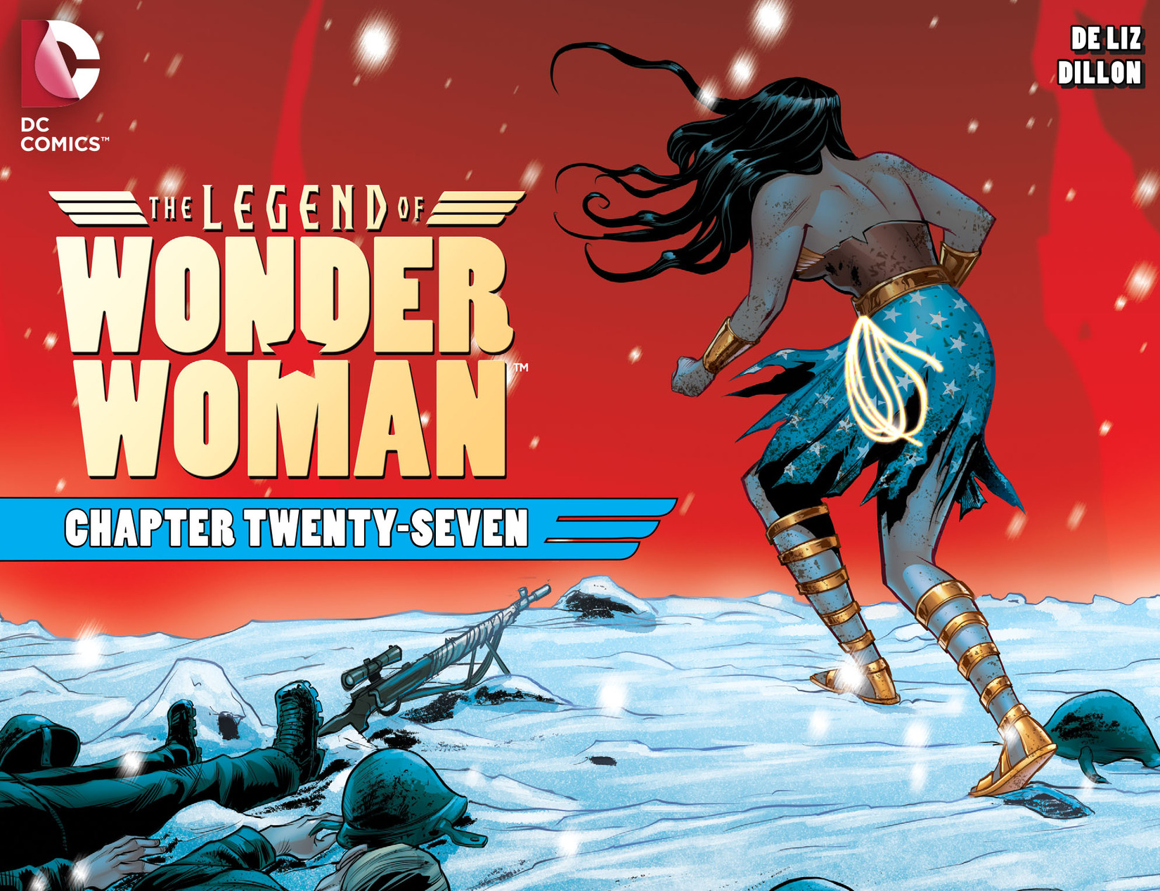 The Legend of Wonder Woman ( 2015) 27 Page 1