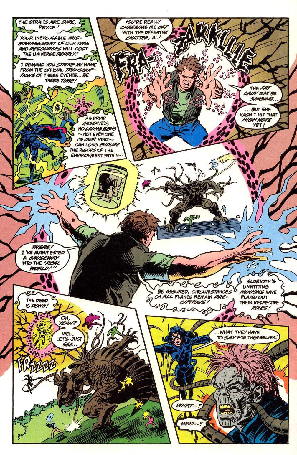 Read online Secret Defenders comic -  Issue #25 - 16