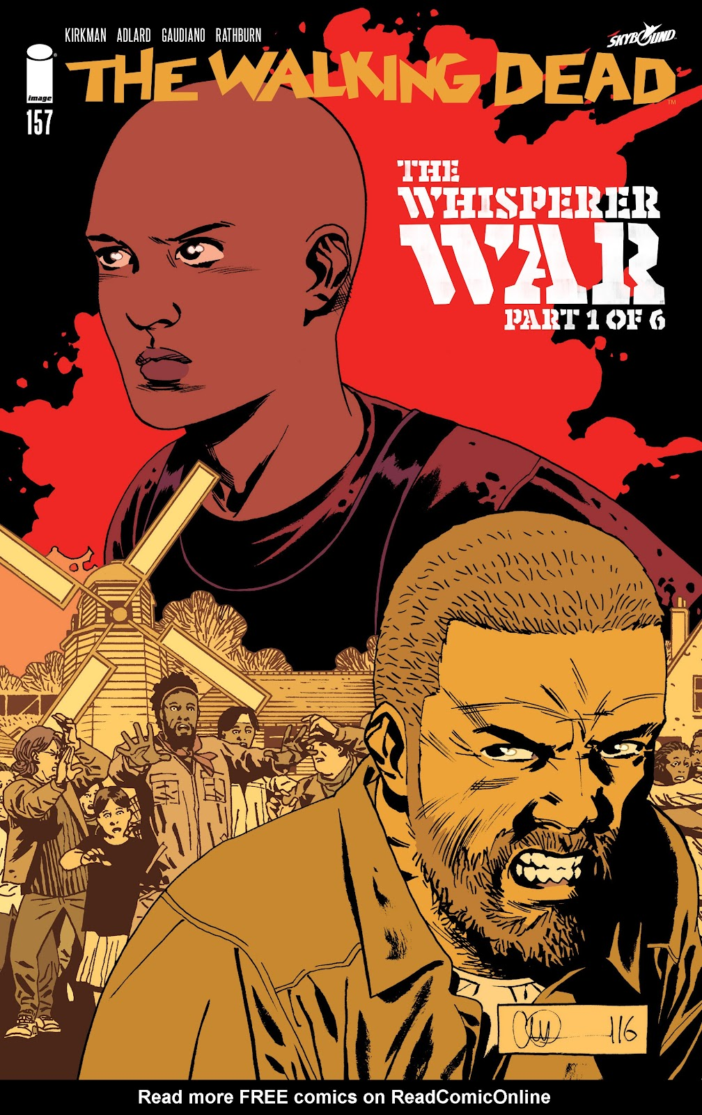The Walking Dead Issue #157 Page 1