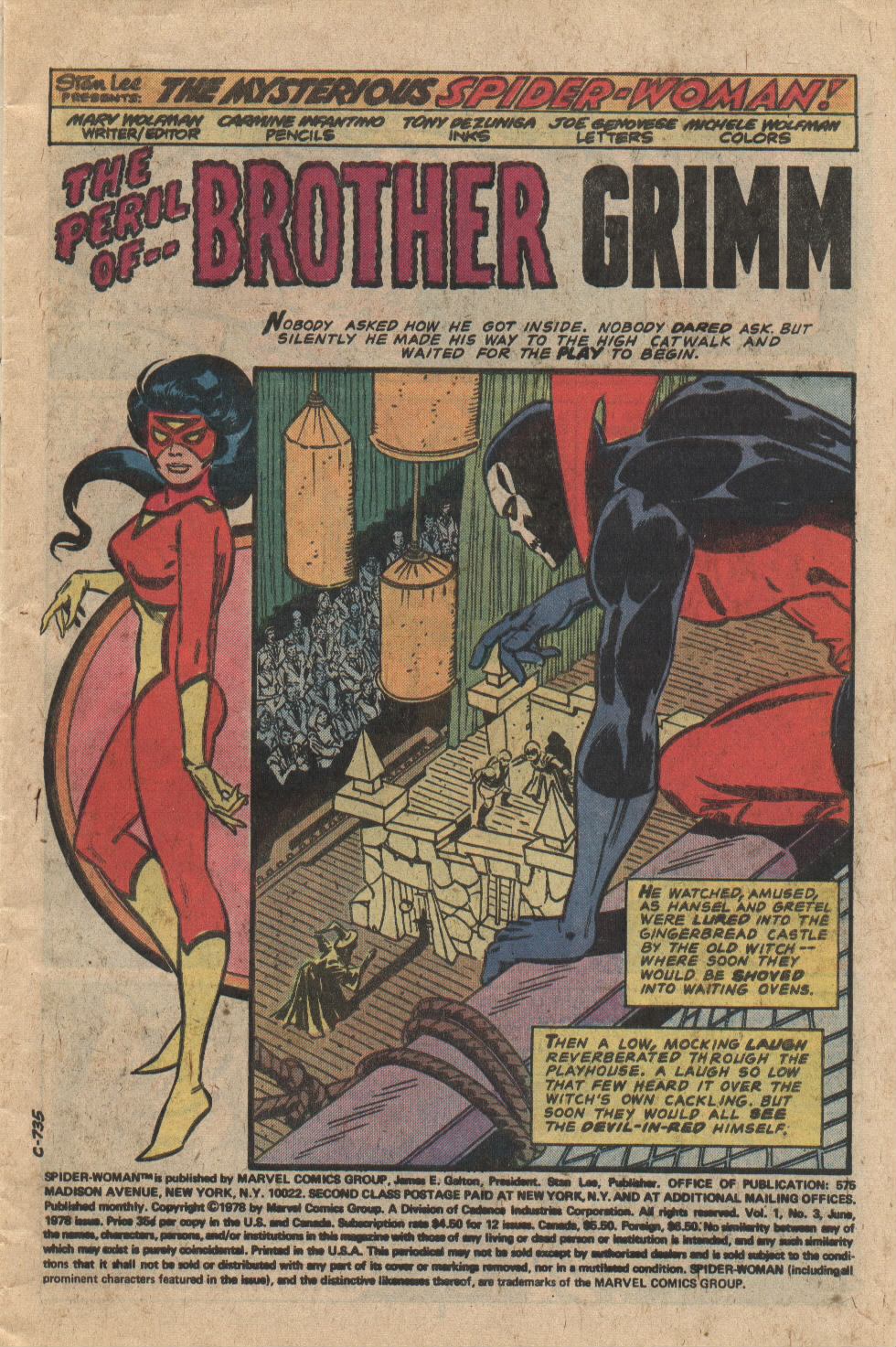 Spider-Woman (1978) Issue #3 #3 - English 2