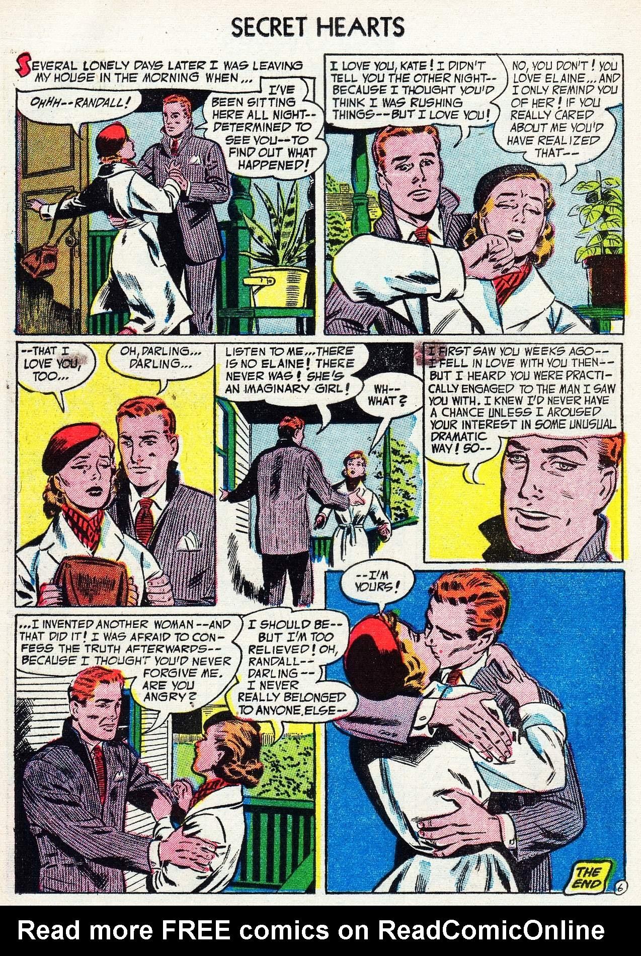Read online Secret Hearts comic -  Issue #16 - 16