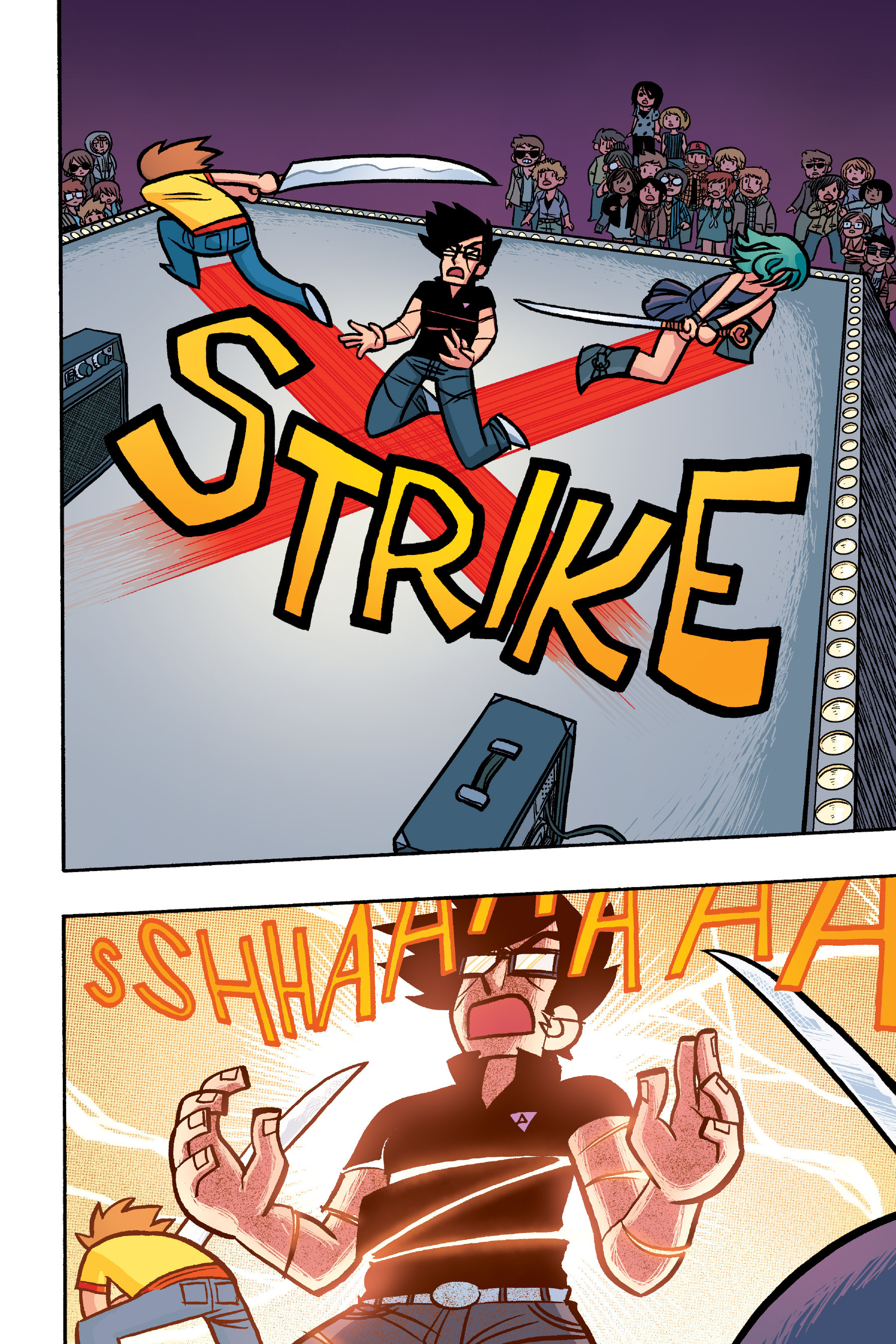 Read online Scott Pilgrim comic -  Issue #6 - 207