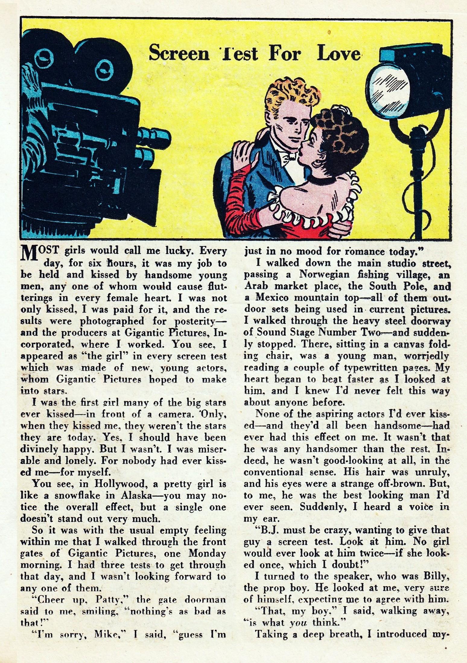 Read online Secret Hearts comic -  Issue #1 - 33