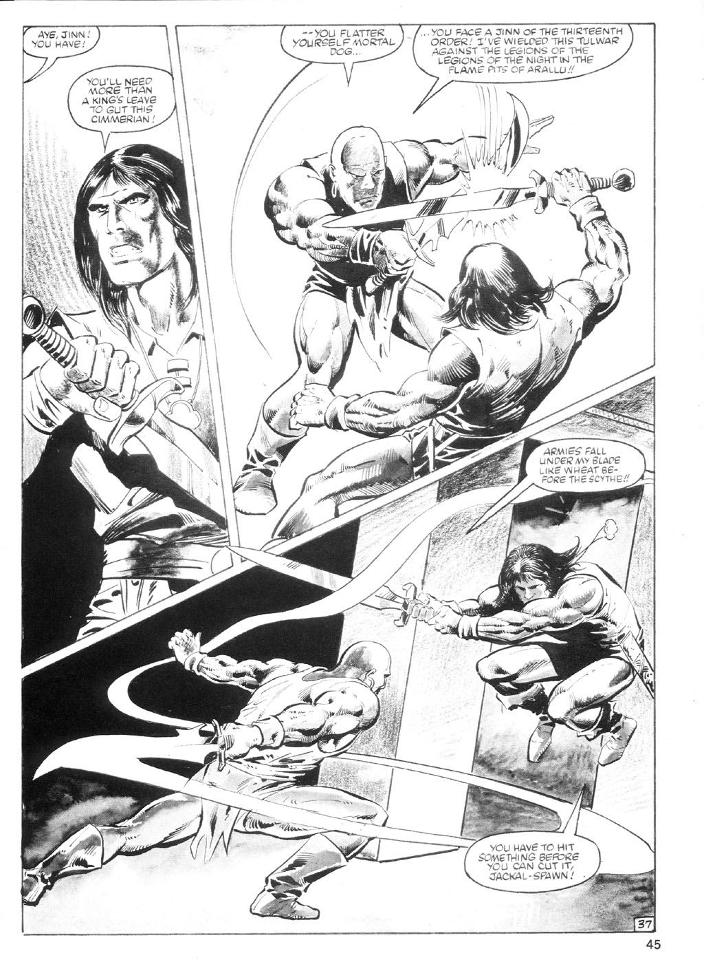 The Savage Sword Of Conan Issue #94 #95 - English 44