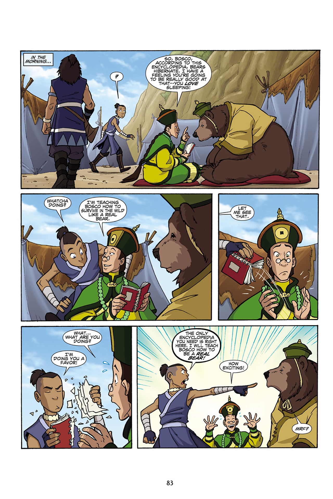 Nickelodeon Avatar: The Last Airbender - The Lost Adventures chap full pic 84
