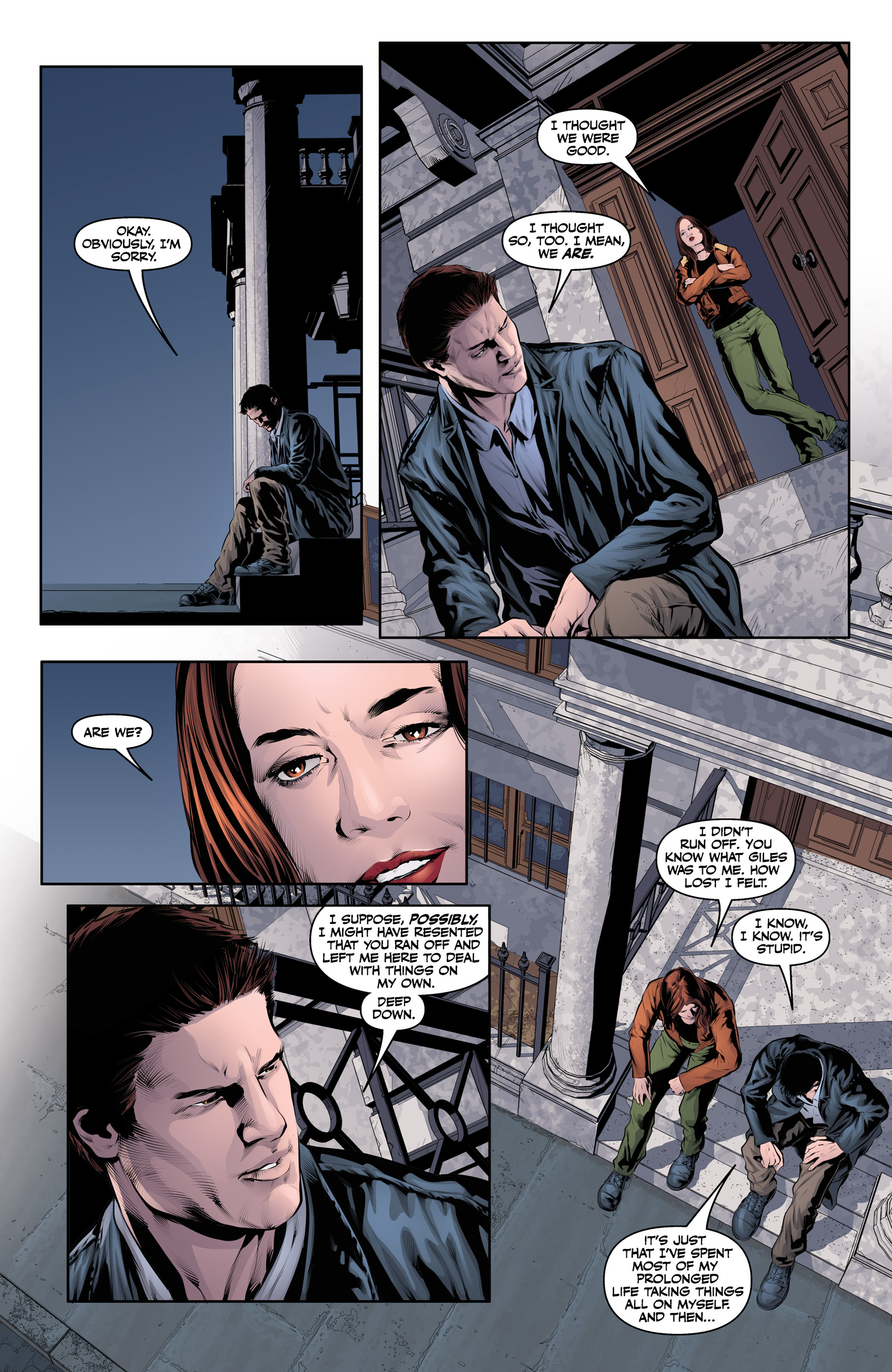 Read online Angel & Faith Season 10 comic -  Issue #21 - 12