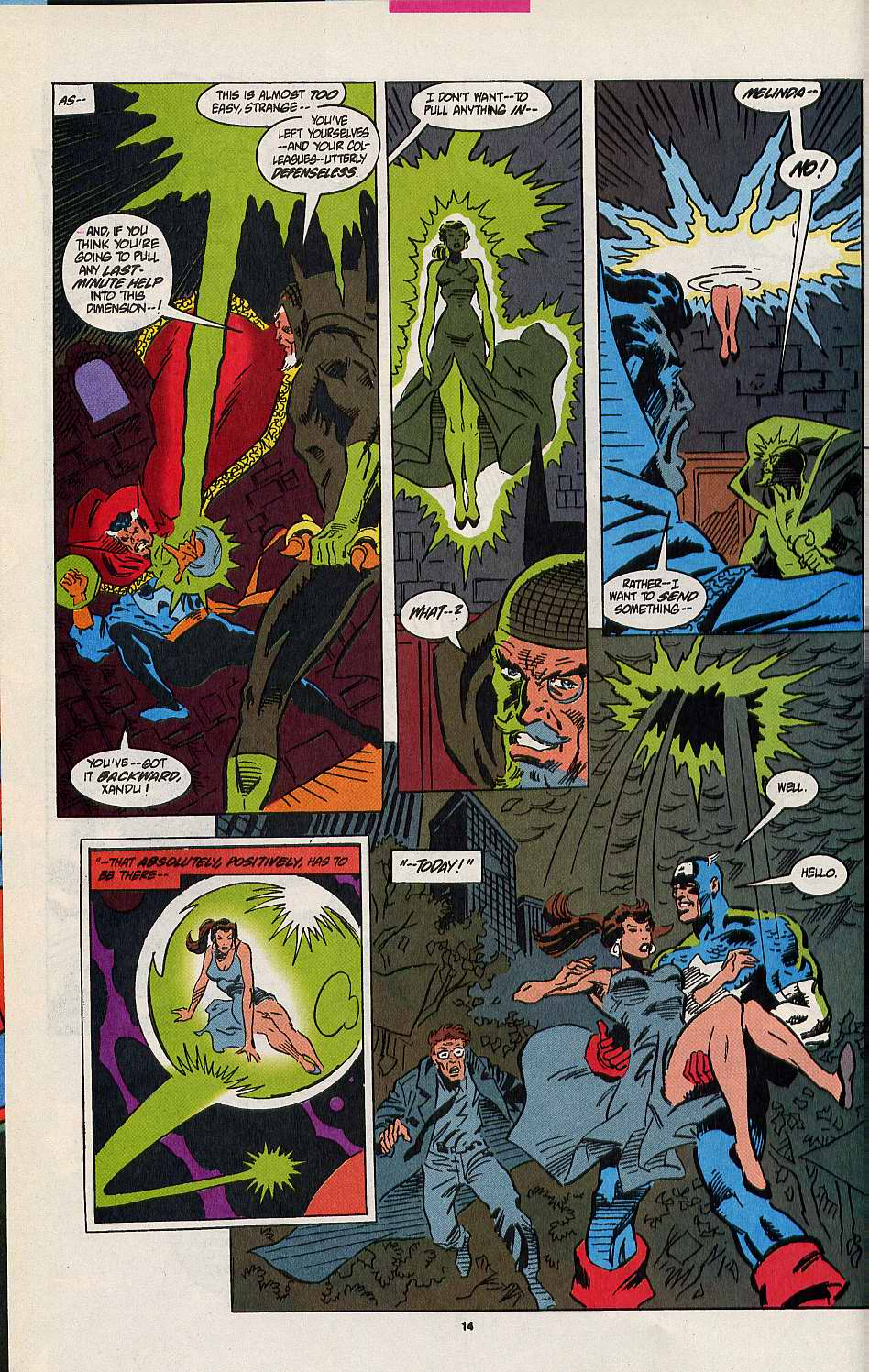 Read online Secret Defenders comic -  Issue #8 - 11