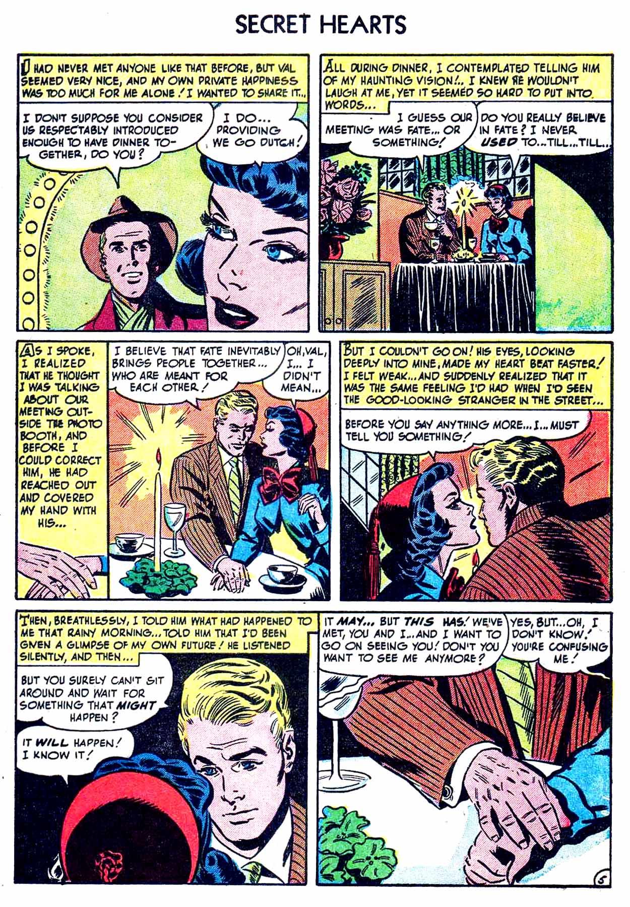 Read online Secret Hearts comic -  Issue #8 - 7