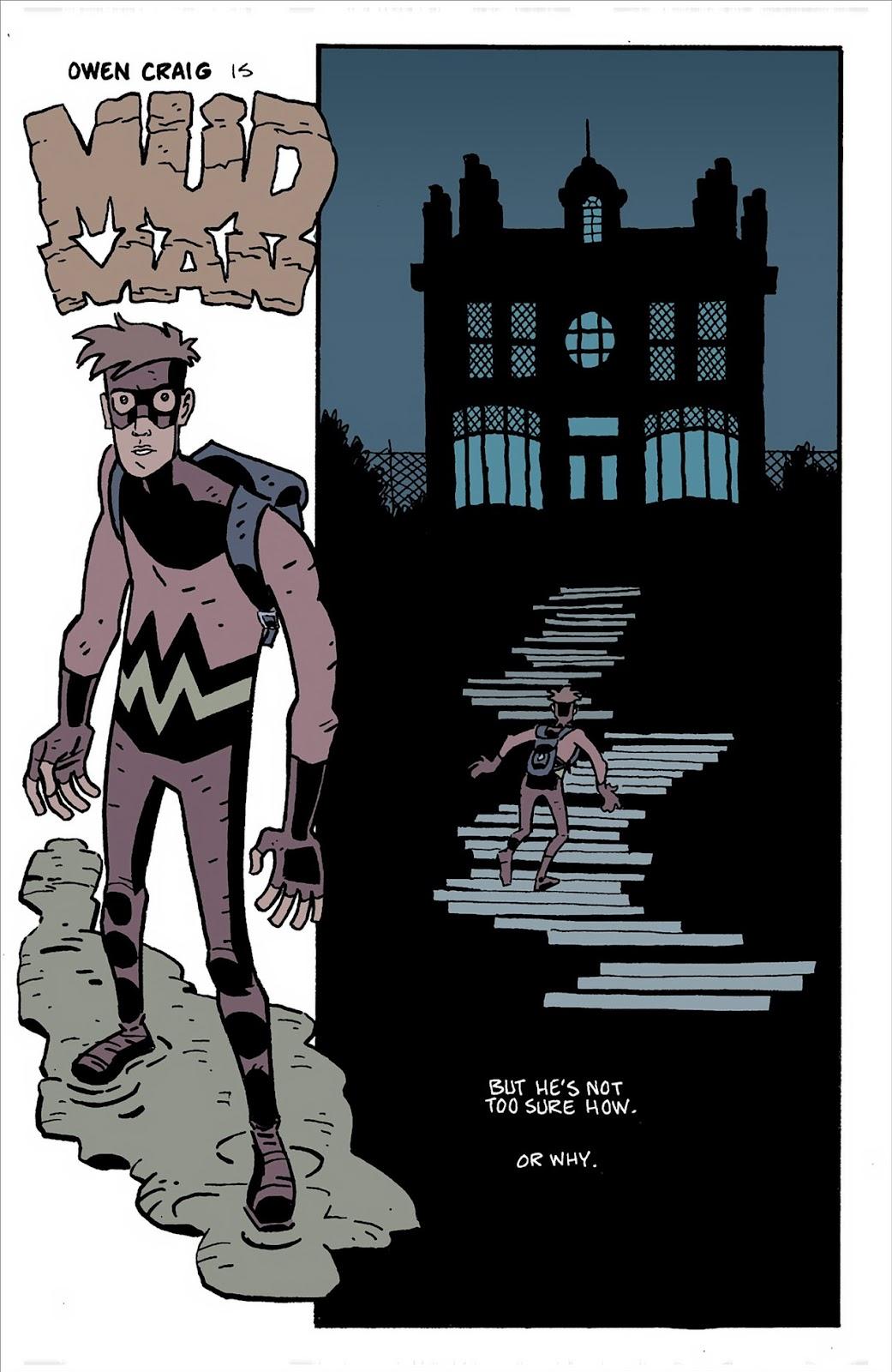 Mudman Issue #3 #3 - English 8