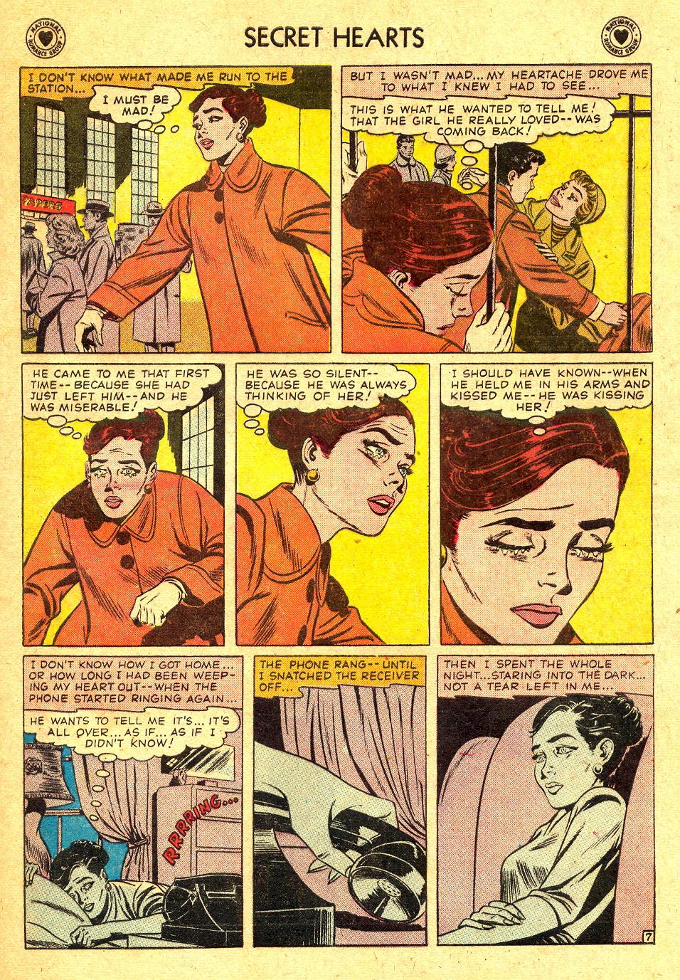Read online Secret Hearts comic -  Issue #45 - 33