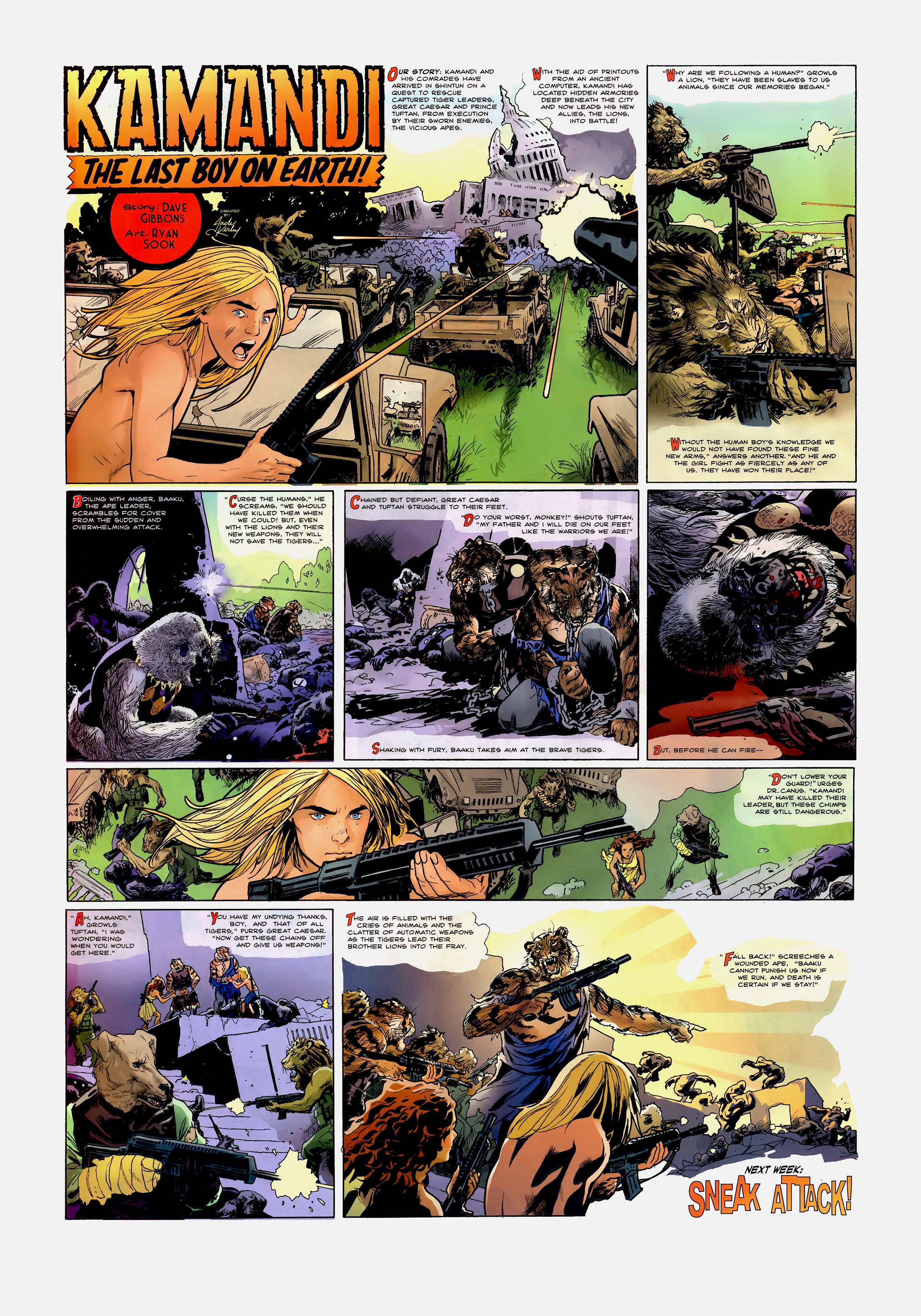 Read online Wednesday Comics comic -  Issue #10 - 3