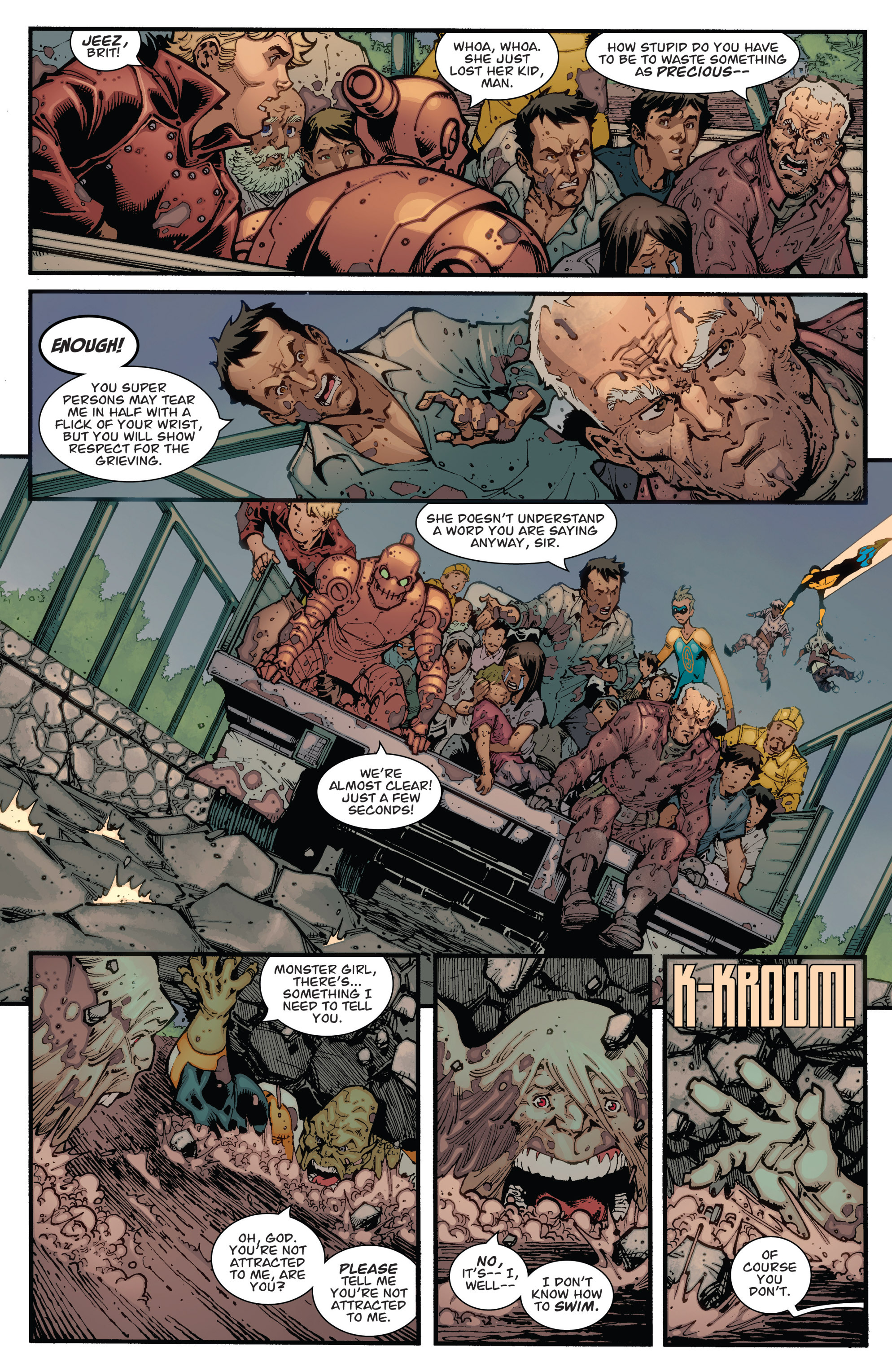 Read online Guarding the Globe (2012) comic -  Issue #2 - 5