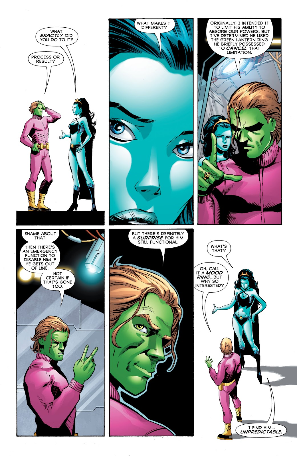 Legion of Super-Heroes (2010) Issue #4 #5 - English 30