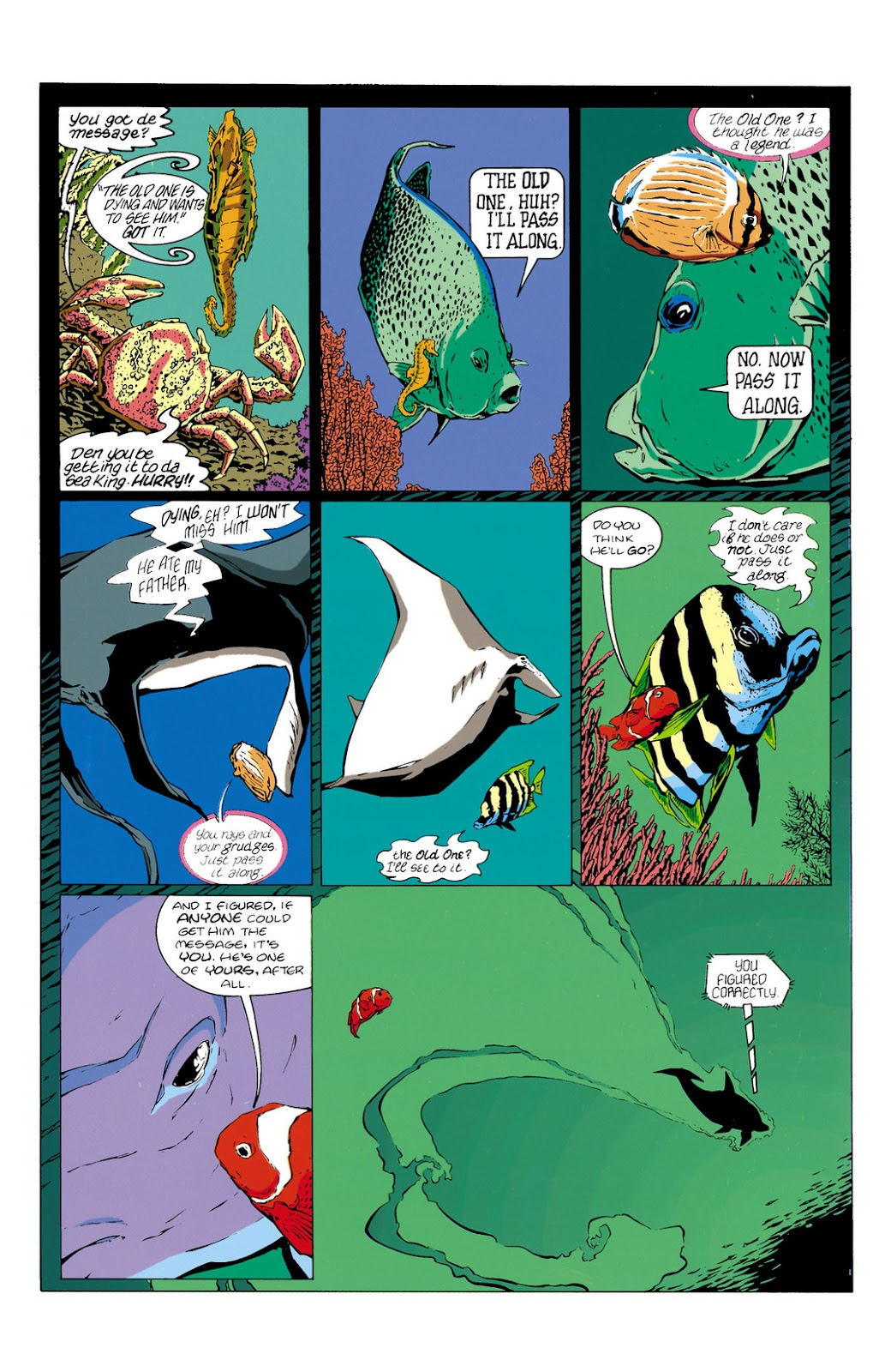 Aquaman (1994) Issue #10 #16 - English 2