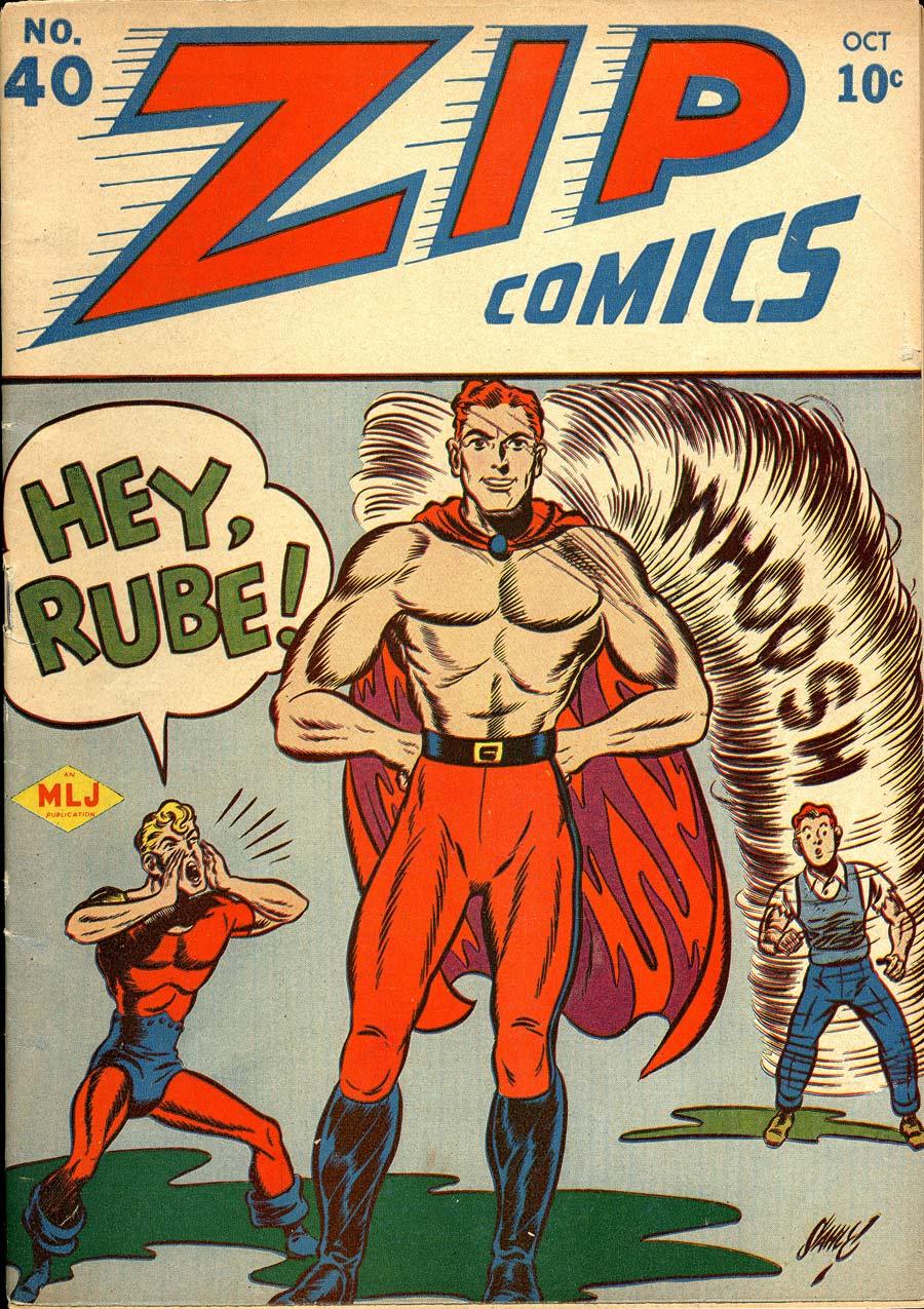 Zip Comics 40 Page 1