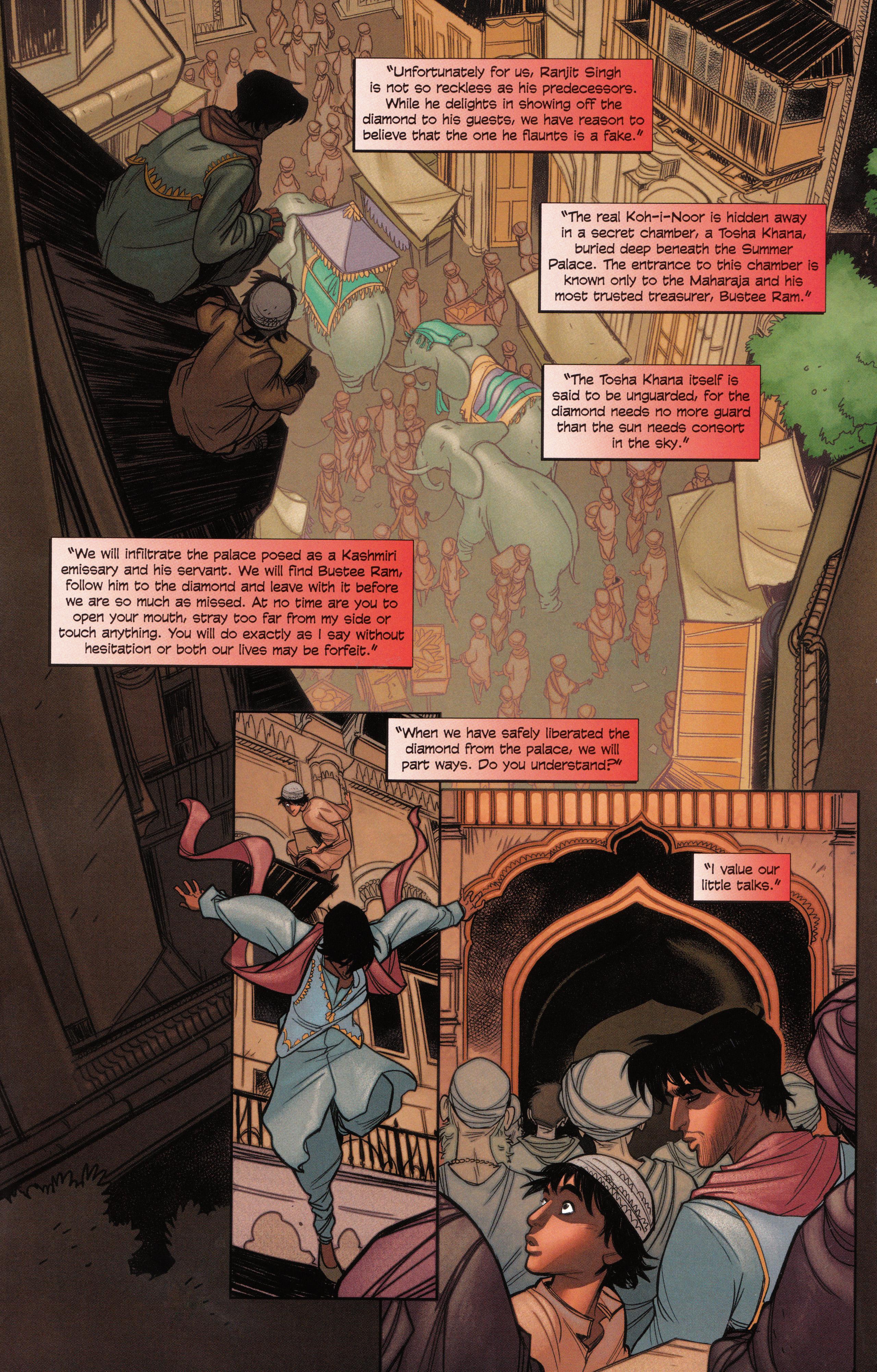 Read online Assassin's Creed Brahman comic -  Issue #Assassin's Creed Brahman Full - 40