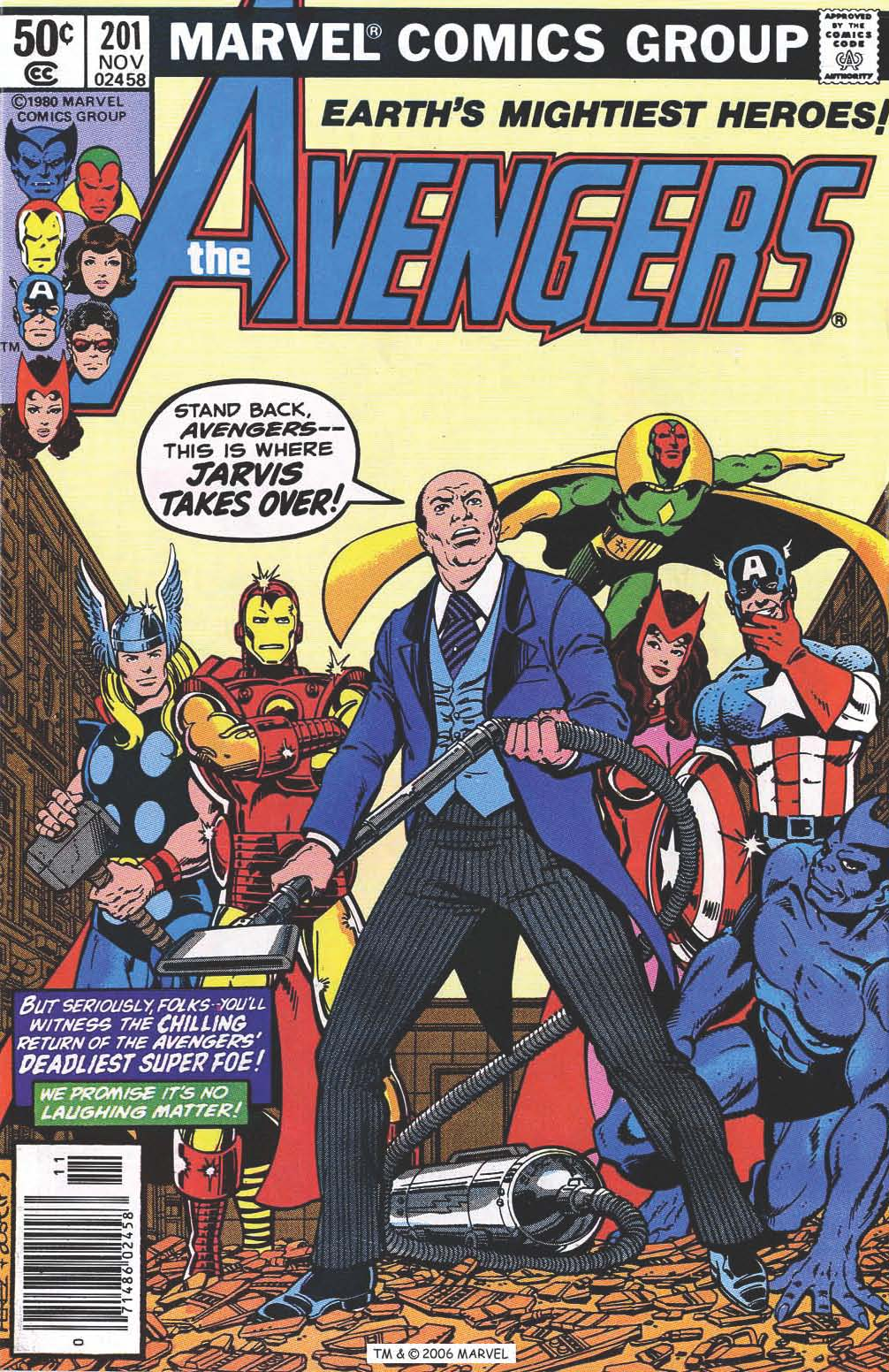 The Avengers (1963) 201 Page 1
