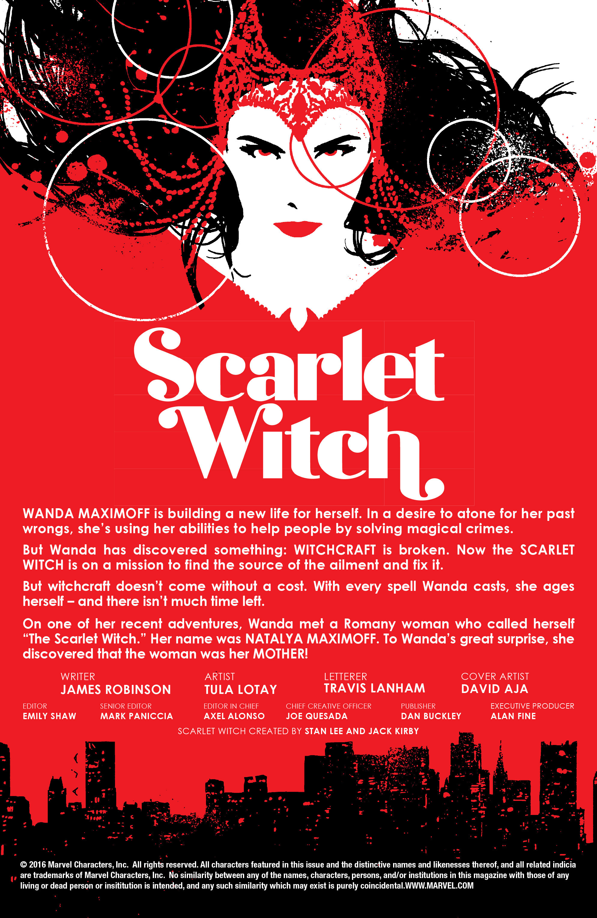 Read online Scarlet Witch (2016) comic -  Issue #8 - 2