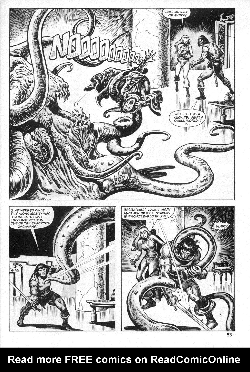 The Savage Sword Of Conan Issue #95 #96 - English 53
