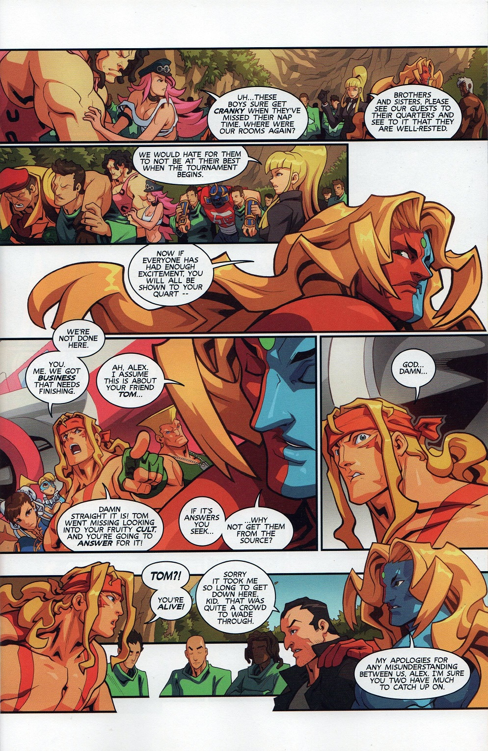 Street Fighter Unlimited Issue #7 #9 - English 9