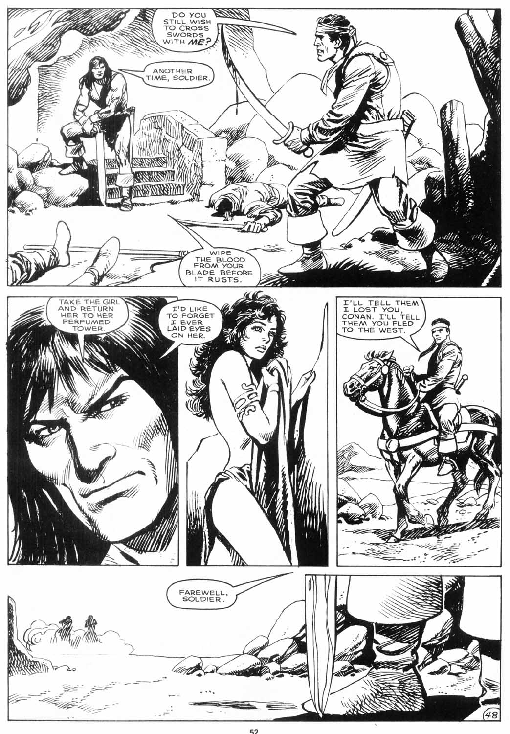 The Savage Sword Of Conan Issue #156 #157 - English 51