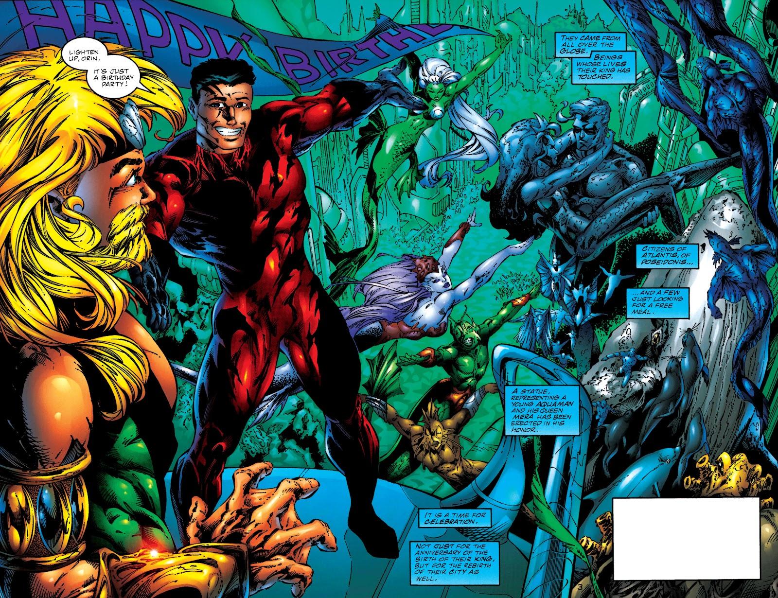 Aquaman (1994) Issue #50 #56 - English 3