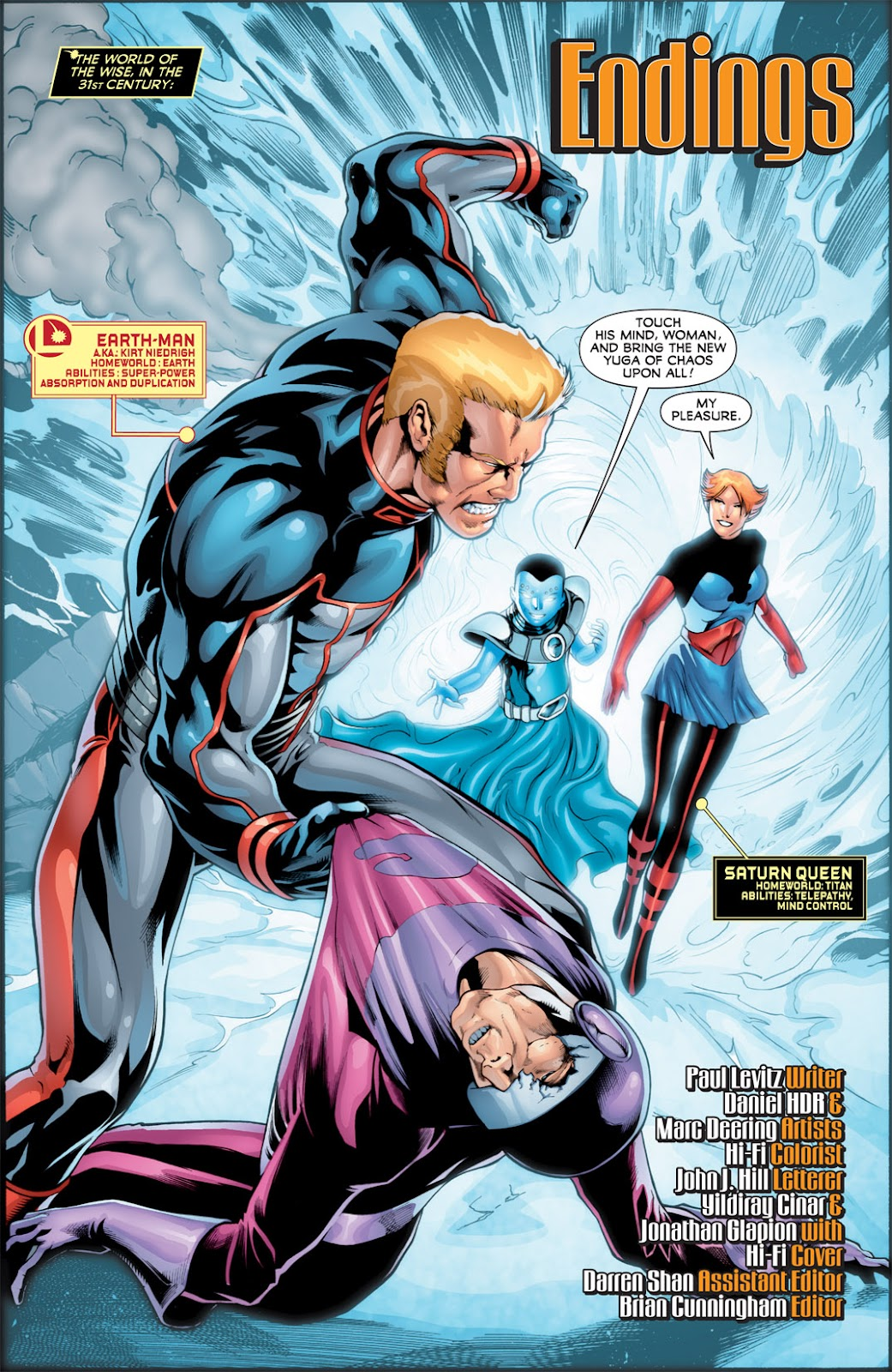 Legion of Super-Heroes (2010) Issue #16 #17 - English 2