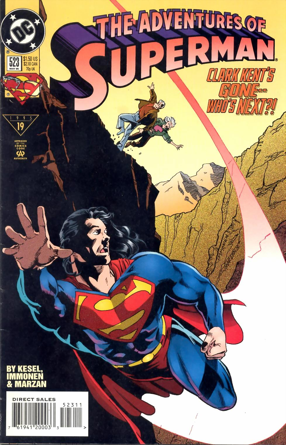 Adventures of Superman (1987) 523 Page 1