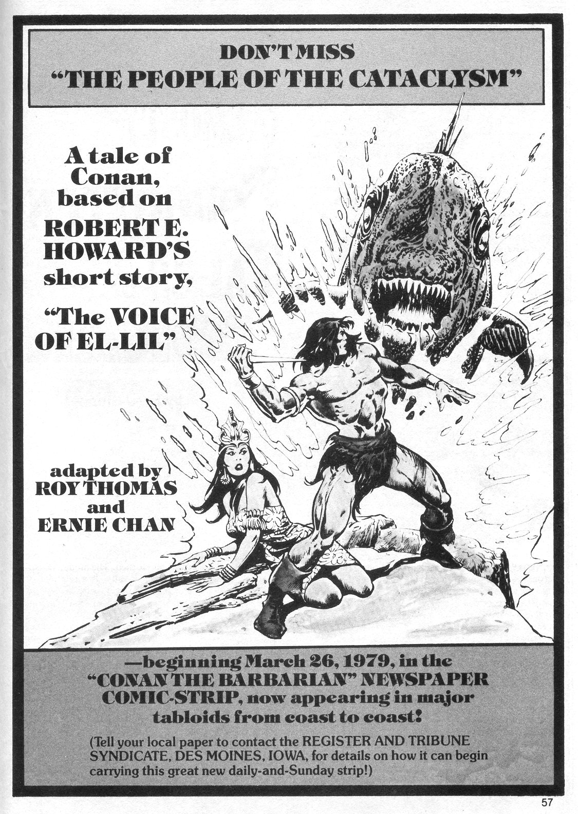 The Savage Sword Of Conan Issue #40 #41 - English 57