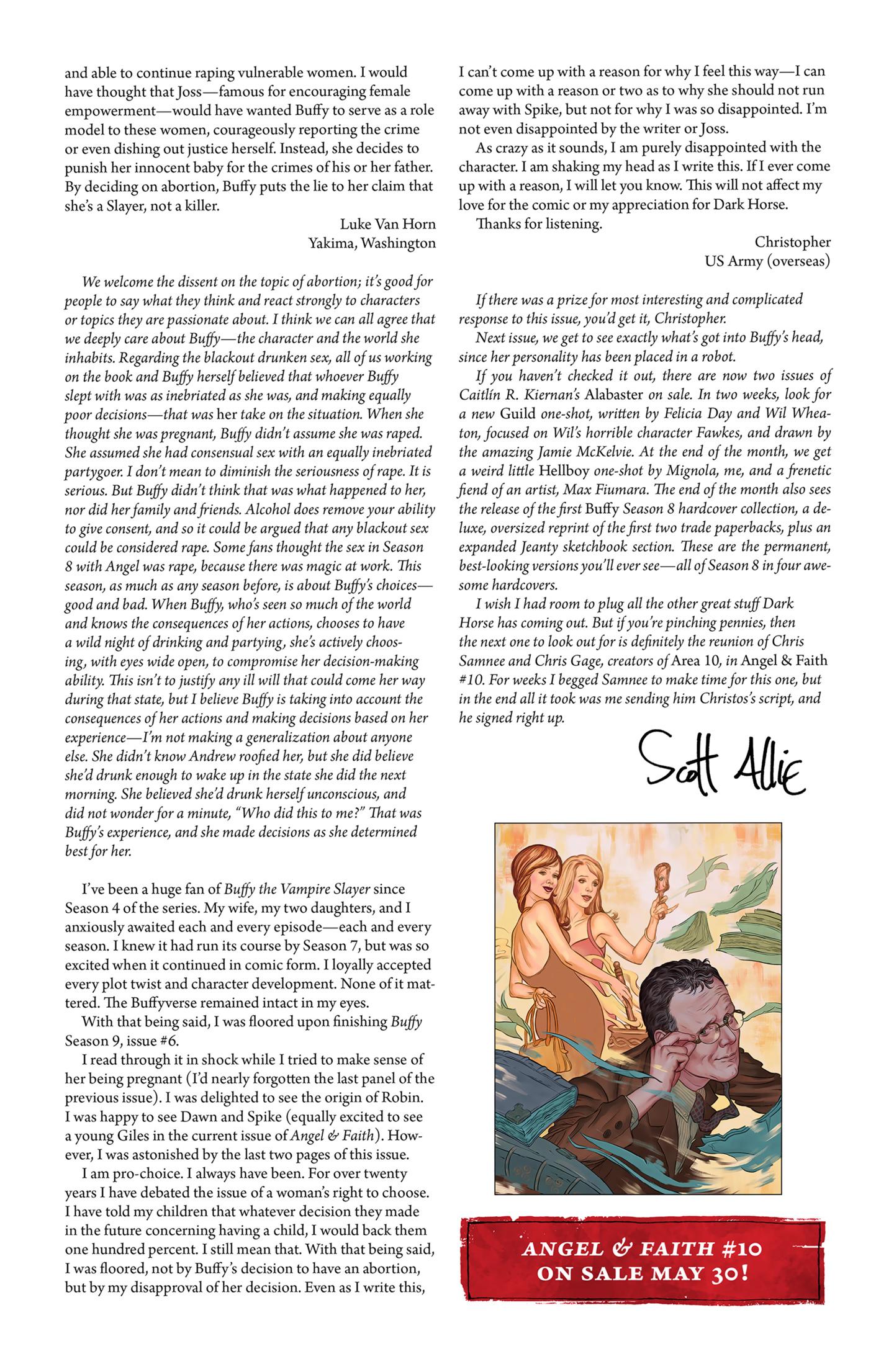 Read online Buffy the Vampire Slayer Season Nine comic -  Issue #9 - 27