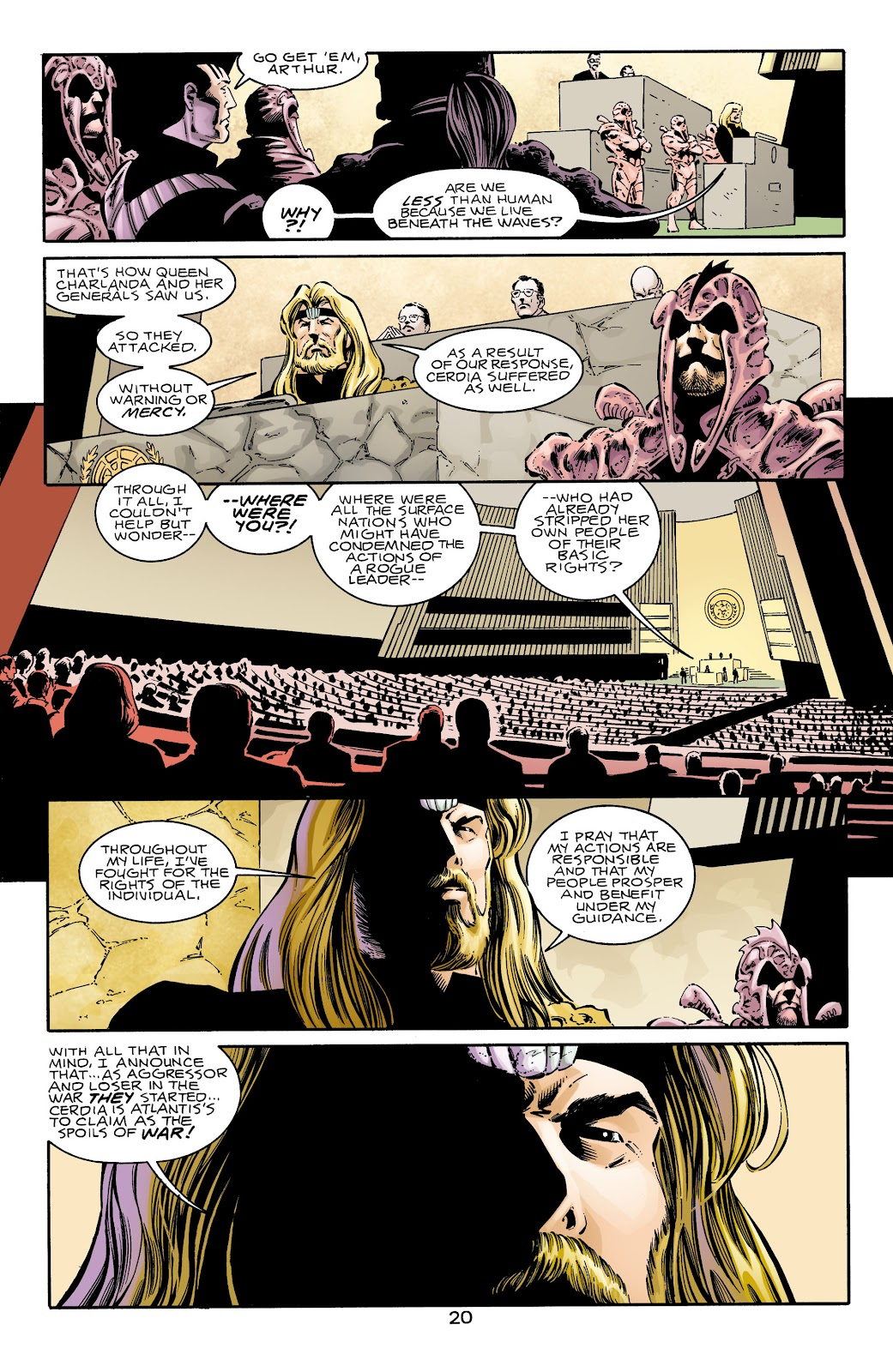 Aquaman (1994) Issue #69 #75 - English 20