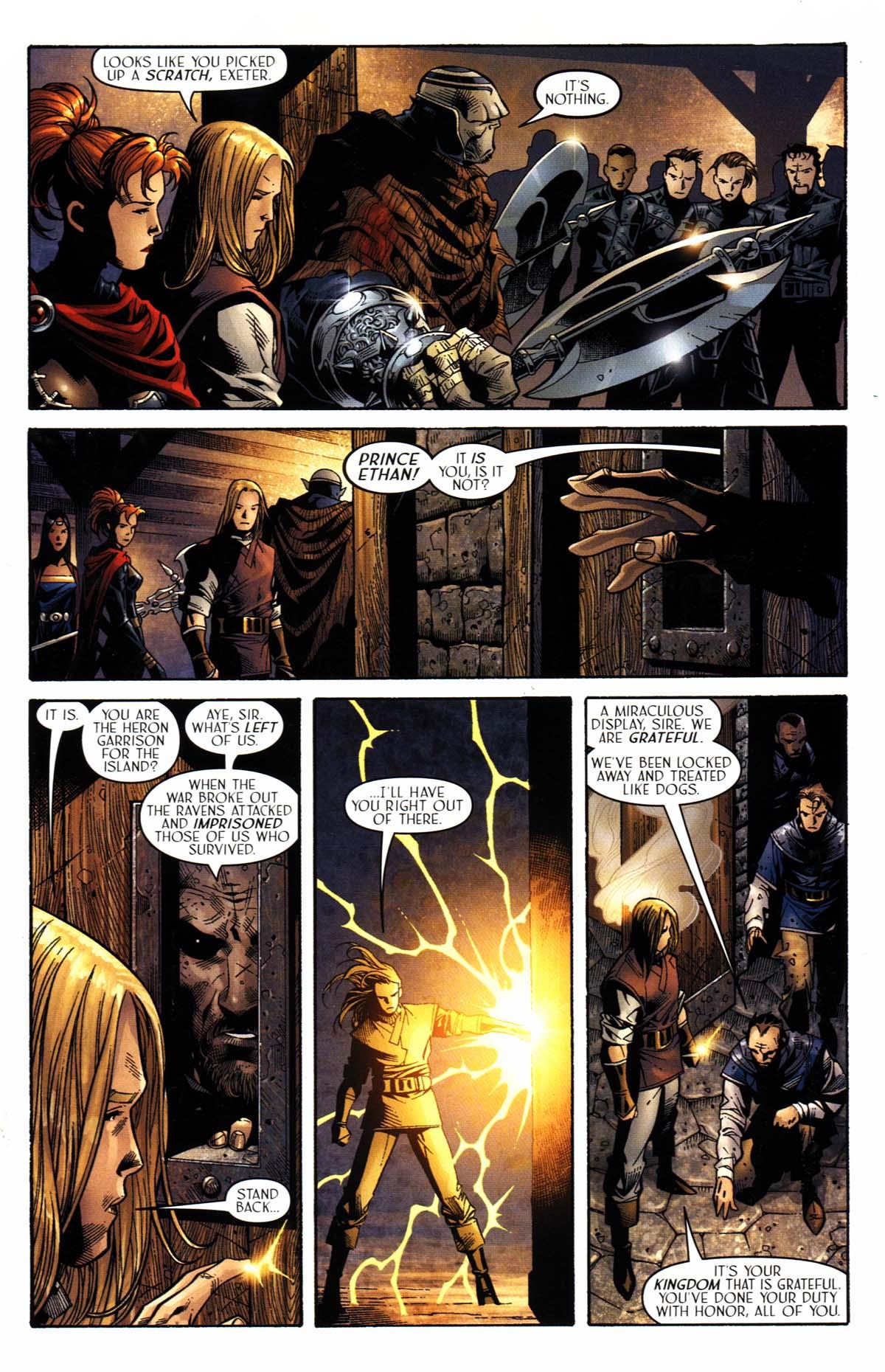 Read online Scion comic -  Issue #23 - 14
