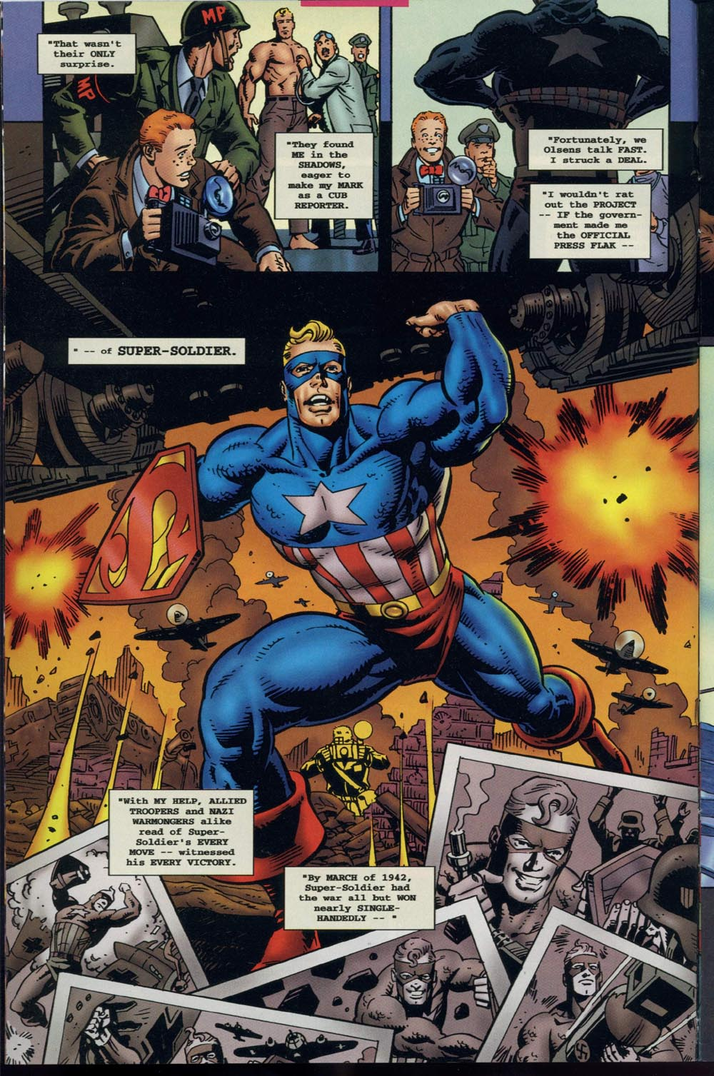 Read online Super Soldier comic -  Issue # Full - 3