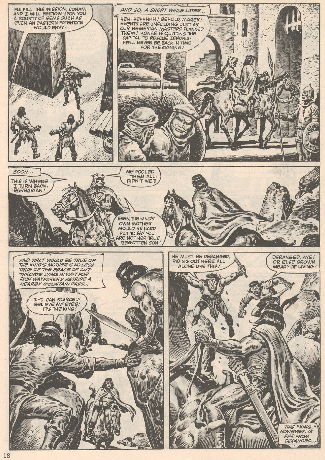 The Savage Sword Of Conan Issue #104 #105 - English 18