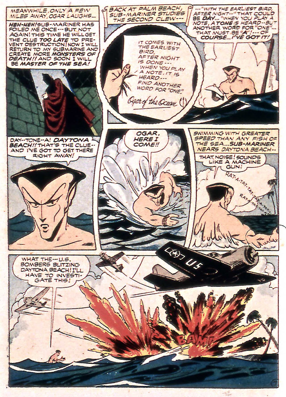 Sub-Mariner Comics Issue #14 #14 - English 36