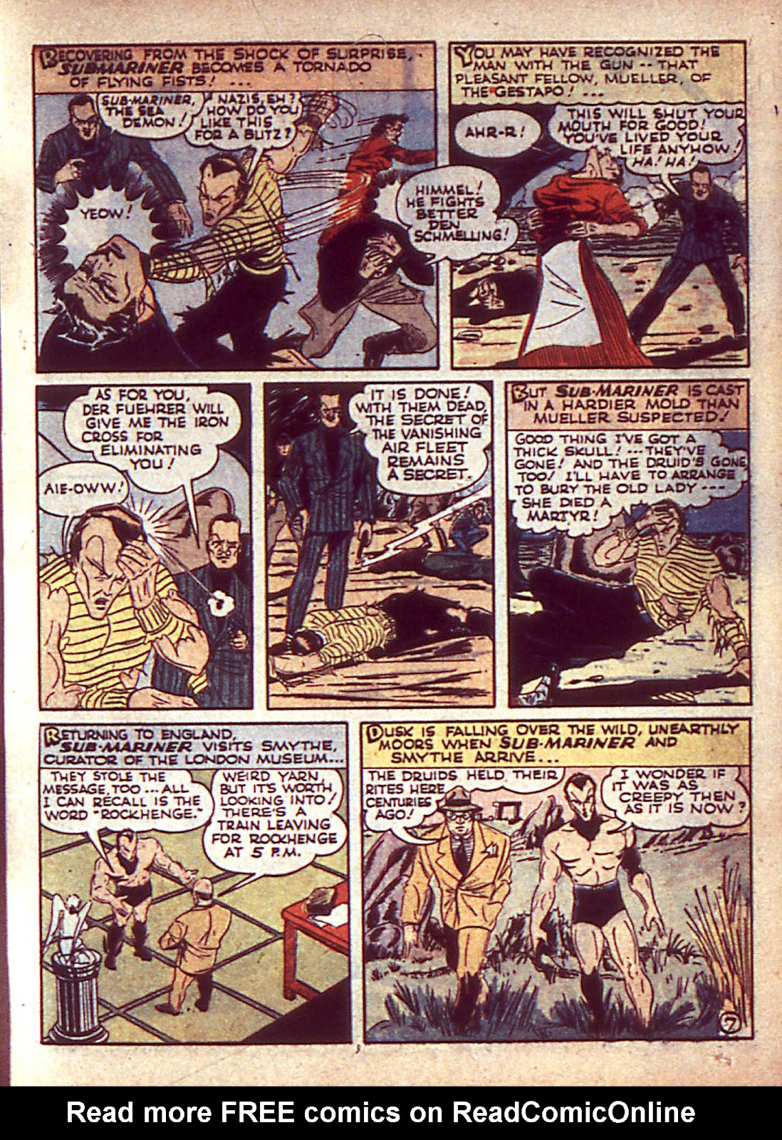 Sub-Mariner Comics Issue #3 #3 - English 10