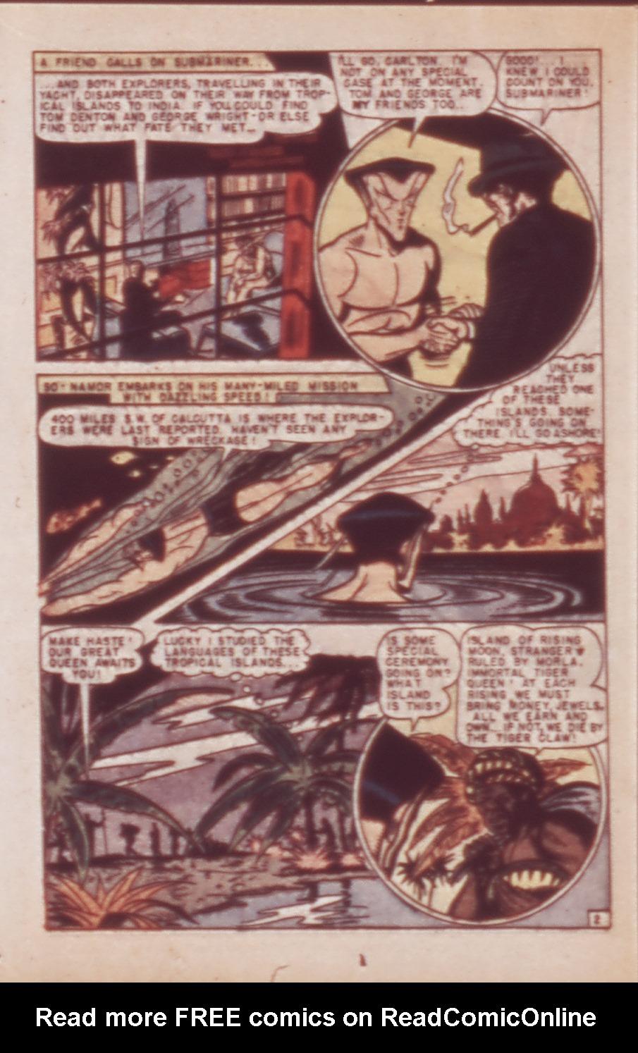 Sub-Mariner Comics Issue #21 #21 - English 16