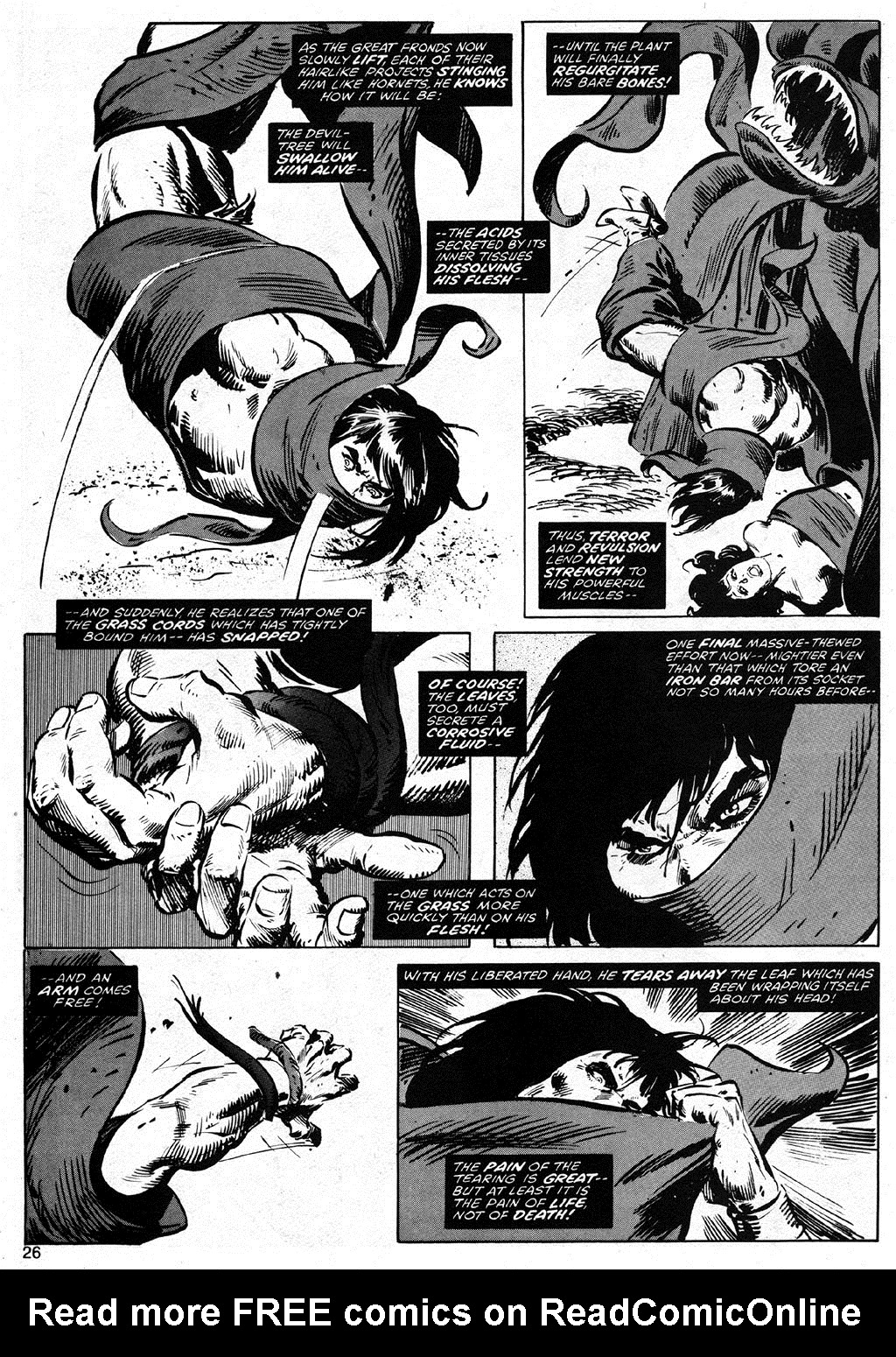 The Savage Sword Of Conan Issue #42 #43 - English 26
