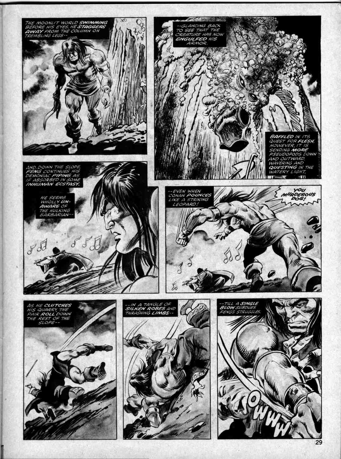 The Savage Sword Of Conan Issue #33 #34 - English 28