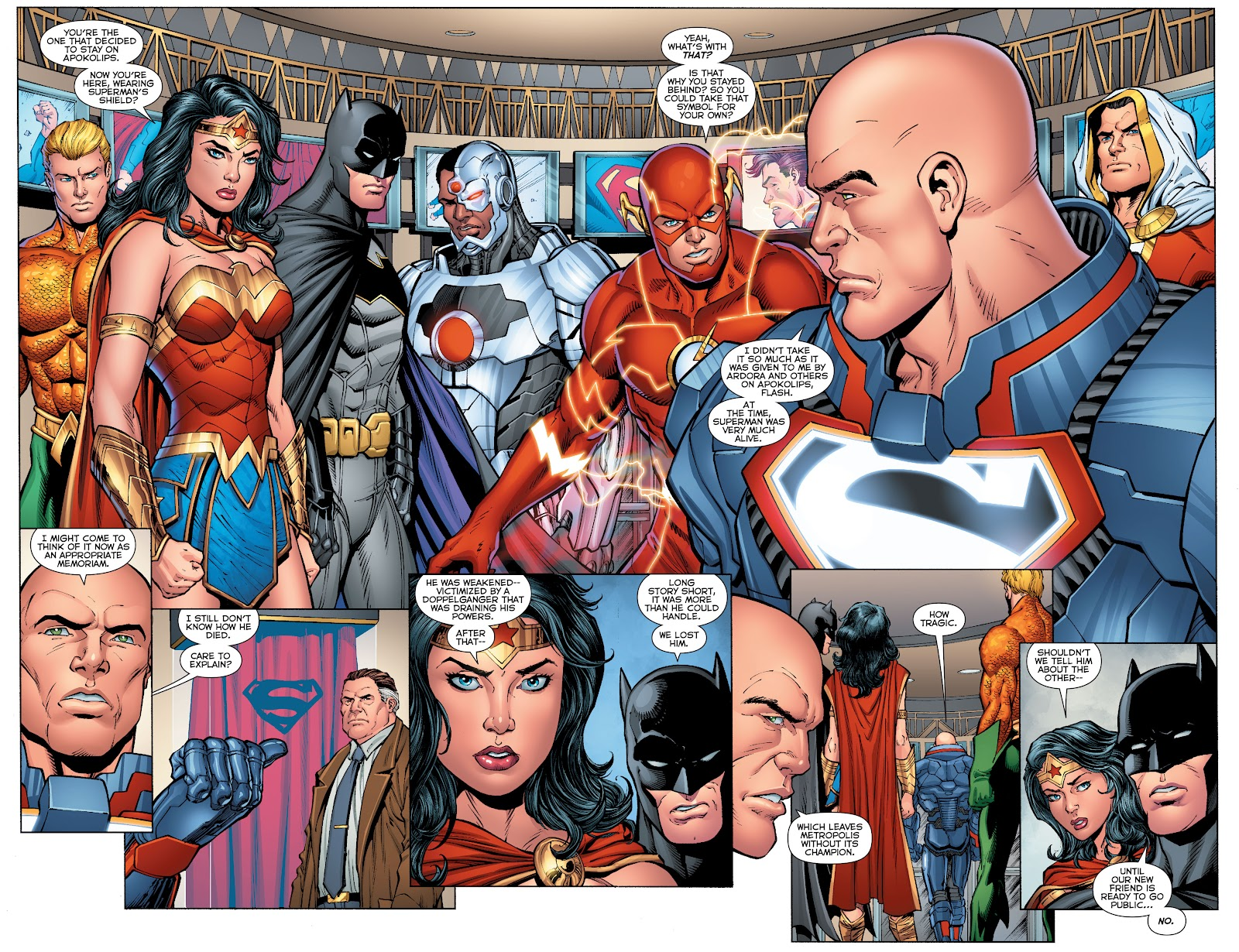 Justice League (2011) Issue #52 #62 - English 7