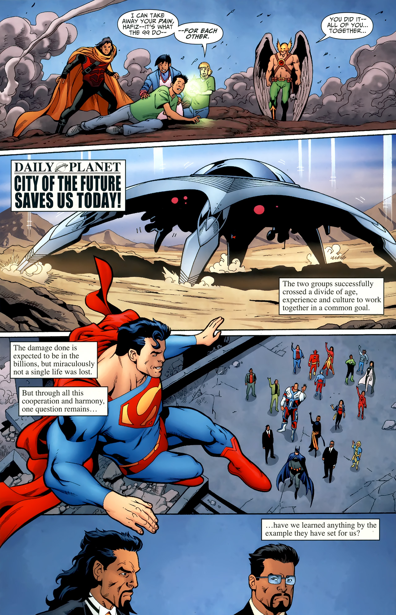 Read online Justice League of America/The 99 comic -  Issue #6 - 19
