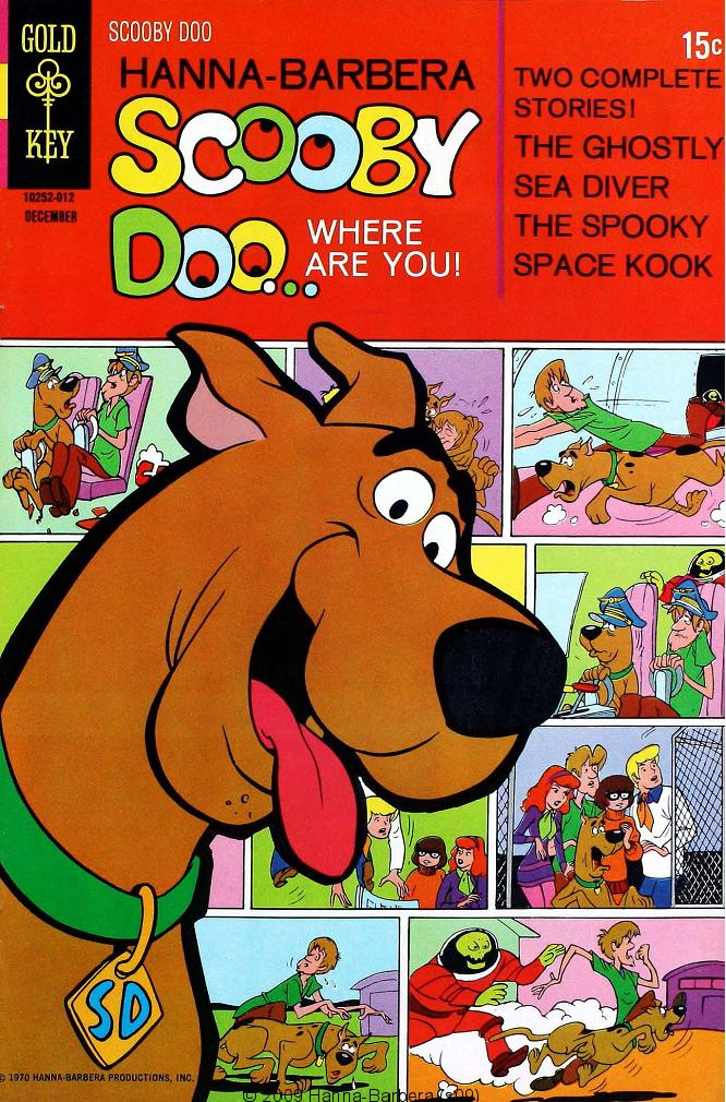 Read online Scooby-Doo... Where Are You! (1970) comic -  Issue #4 - 1