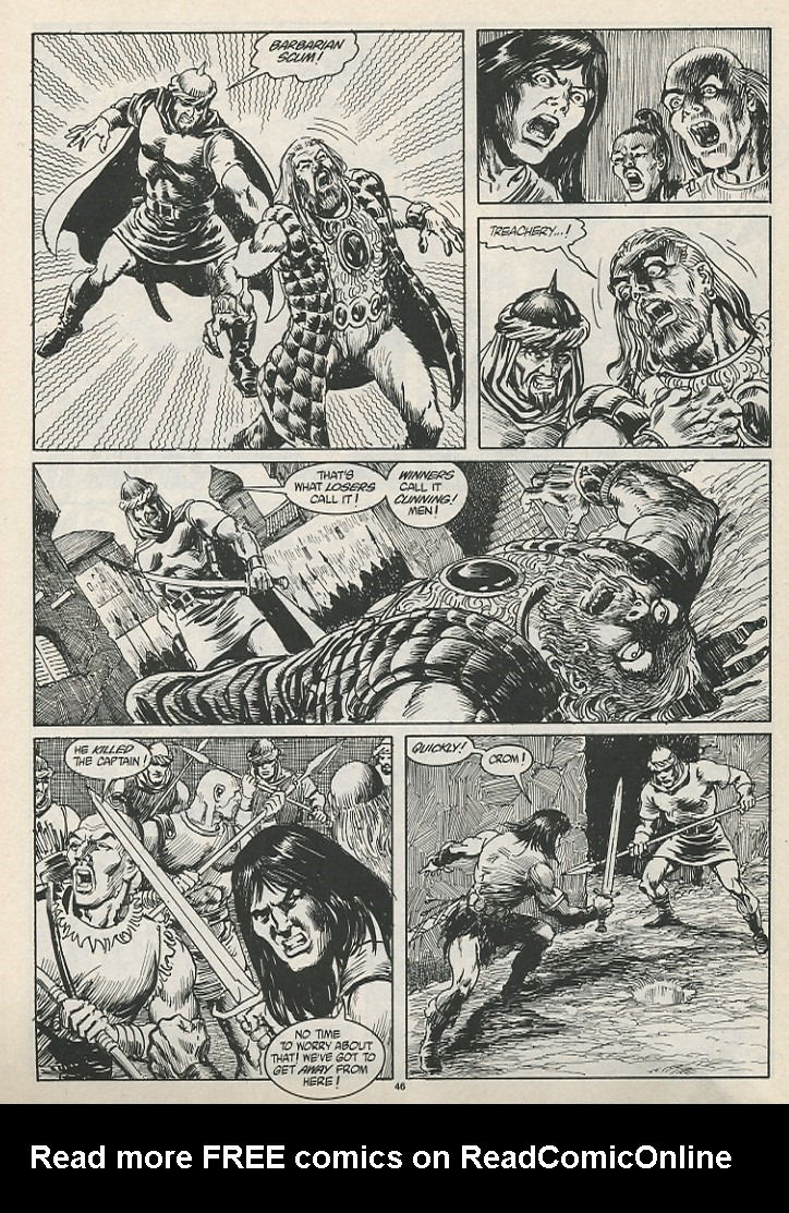 The Savage Sword Of Conan Issue #189 #190 - English 48