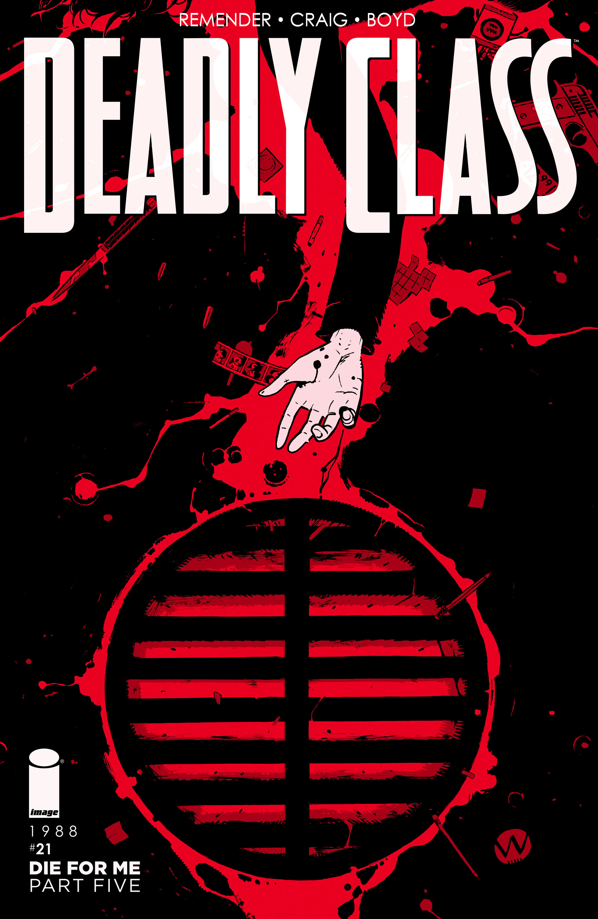 Read online Deadly Class comic -  Issue #21 - 1