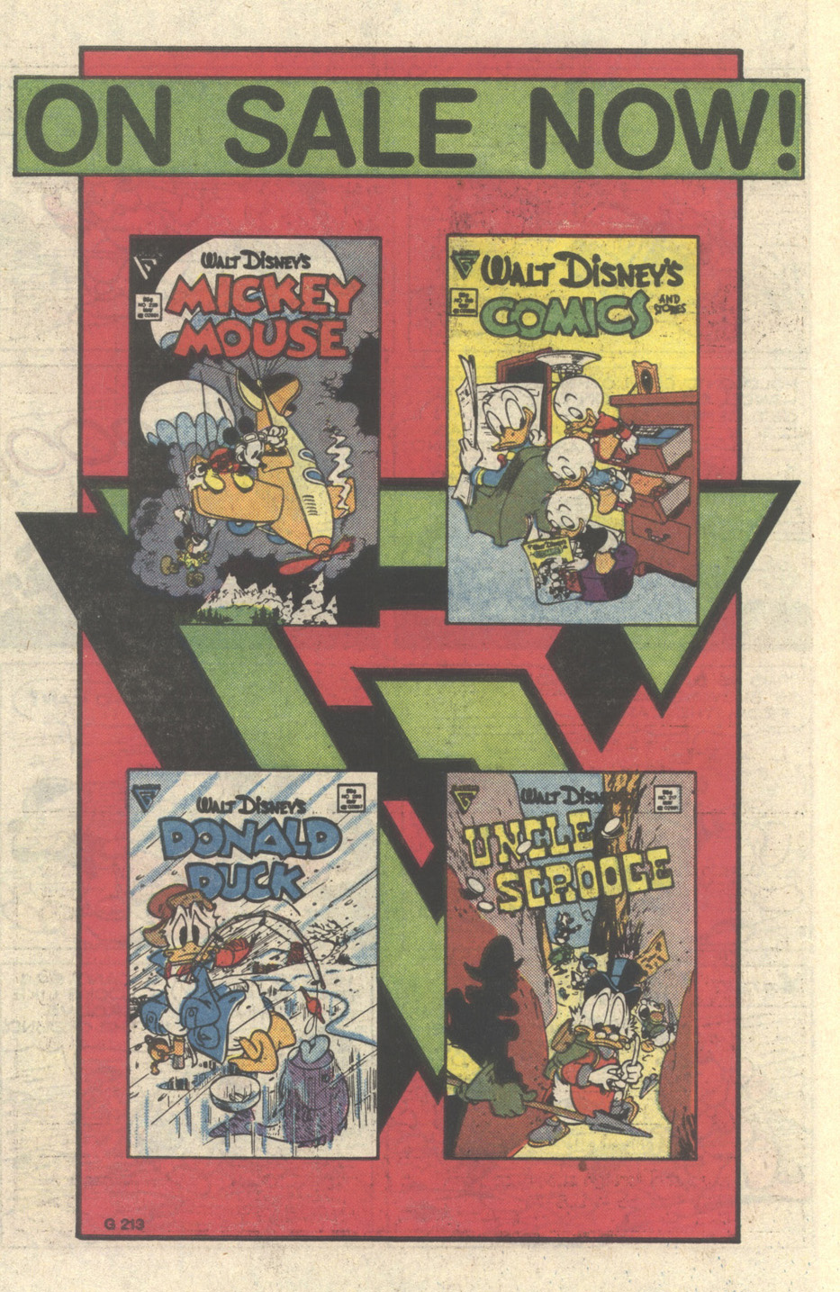 Uncle Scrooge (1953) Issue #217 #217 - English 10